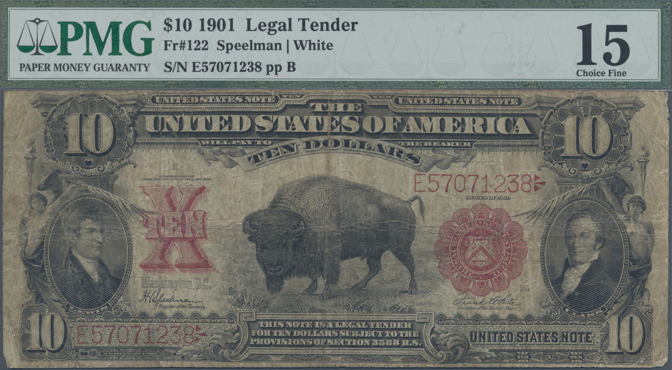 Lot 00901 - United States of America   Banknoten  -  Auktionshaus Christoph Gärtner GmbH & Co. KG Sale #48 The Banknotes