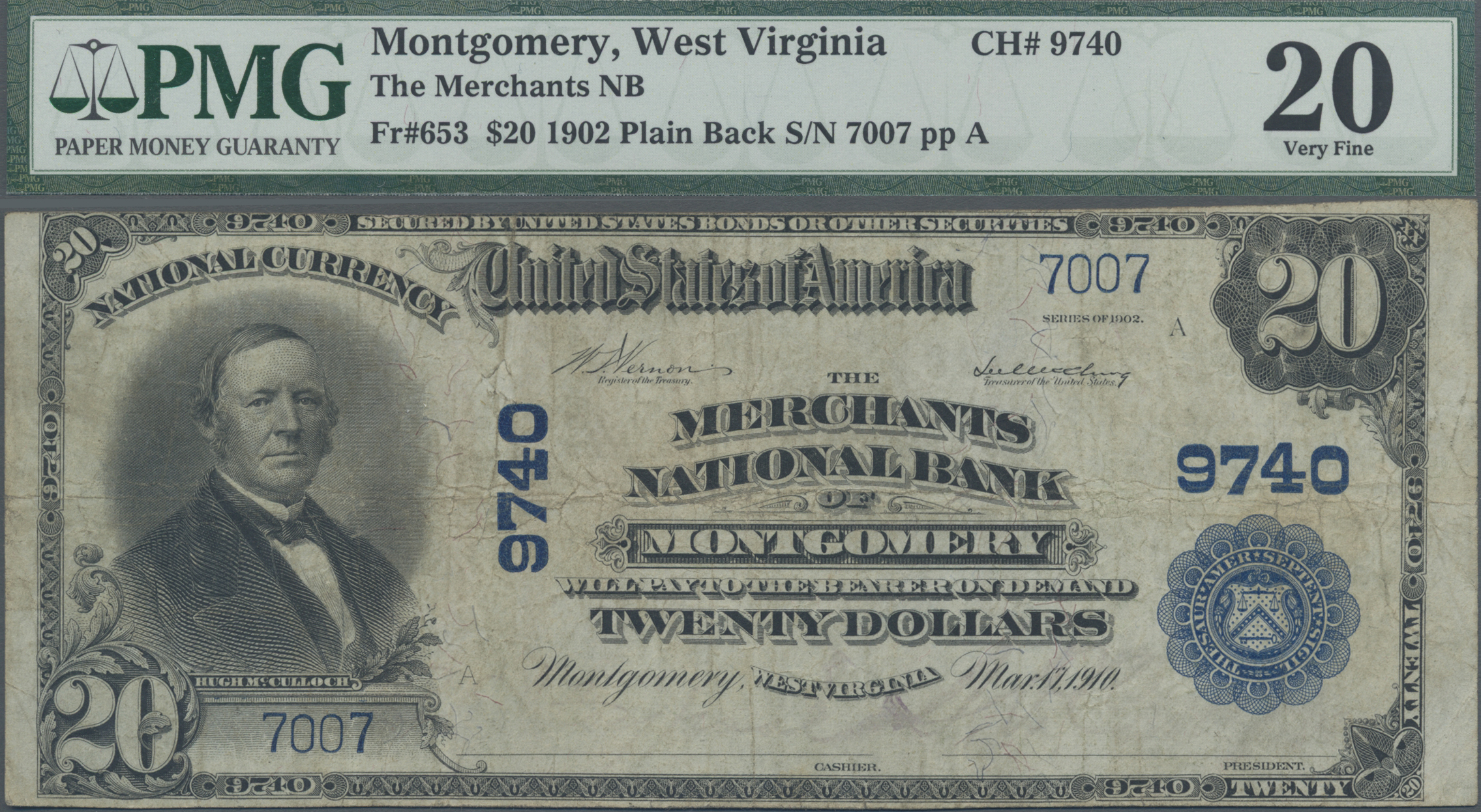 Lot 00912 - United States of America | Banknoten  -  Auktionshaus Christoph Gärtner GmbH & Co. KG Sale #48 The Banknotes