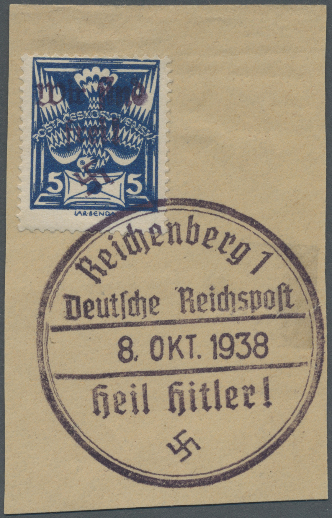 Lot 1351 - Sudetenland - Reichenberg  -  Auktionshaus Christoph Gärtner GmbH & Co. KG Auction #41 Special auction part two