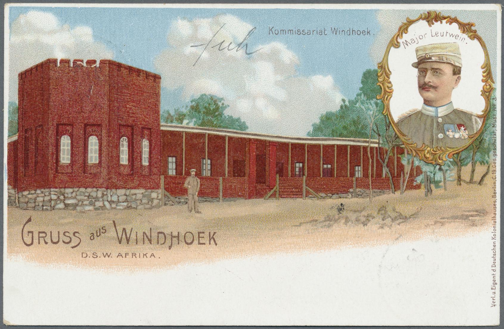 Lot 22368 - Deutsch-Südwestafrika - Ganzsachen  -  Auktionshaus Christoph Gärtner GmbH & Co. KG Single lots Germany + Picture Postcards. Auction #39 Day 5