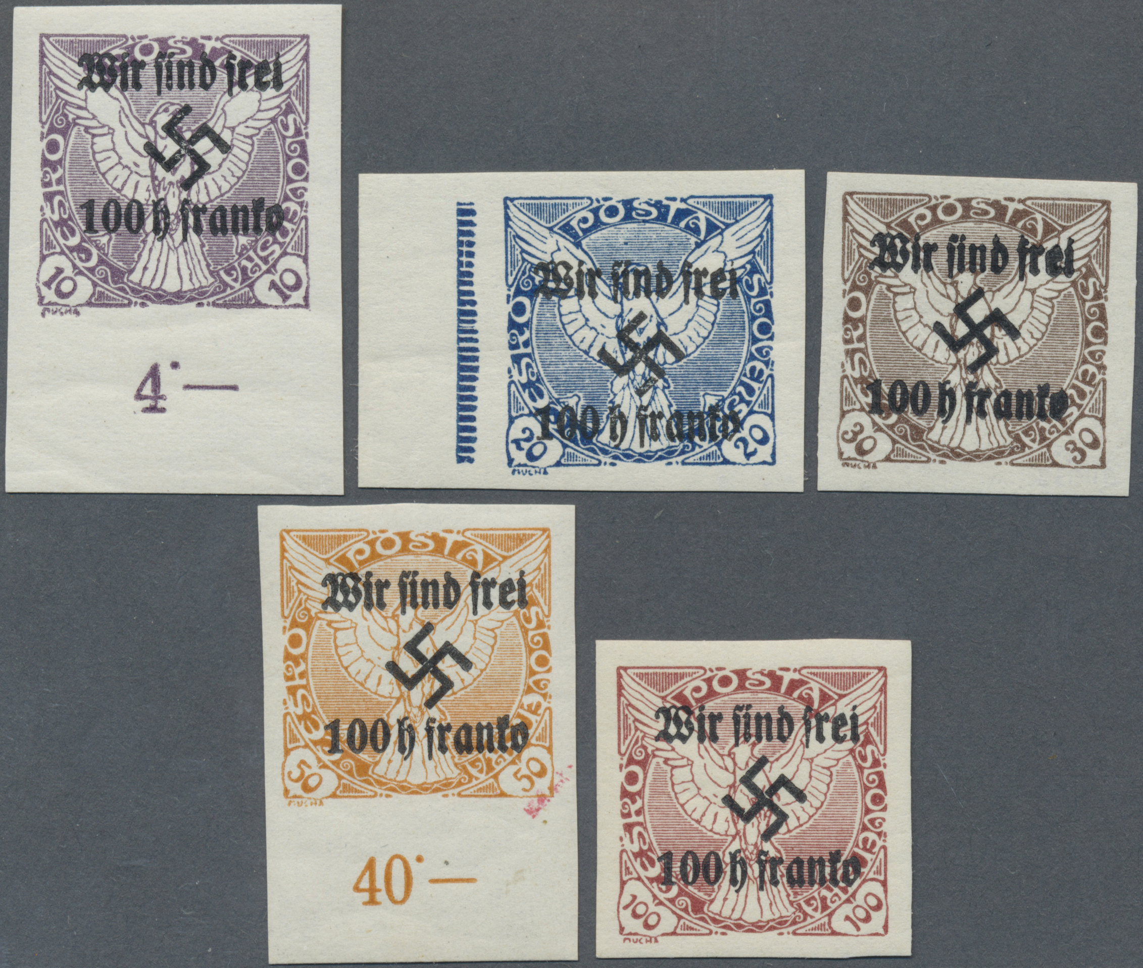 Lot 19260 - sudetenland - rumburg  -  Auktionshaus Christoph Gärtner GmbH & Co. KG Auction #40 Germany, Picture Post Cards, Collections Overseas, Thematics
