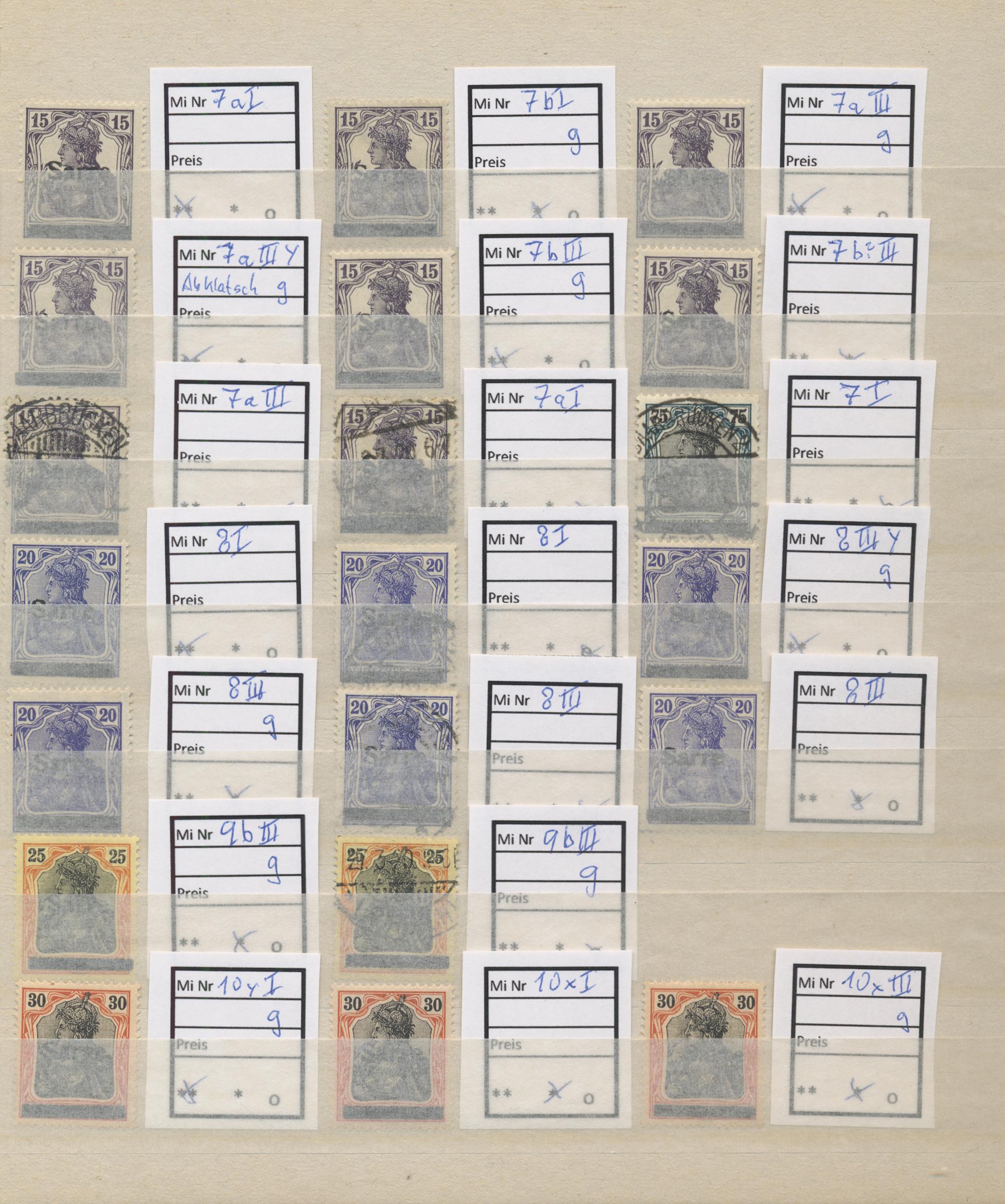 Lot 23667 - Deutsche Abstimmungsgebiete: Saargebiet  -  Auktionshaus Christoph Gärtner GmbH & Co. KG 50th Auction Anniversary Auction - Day 7