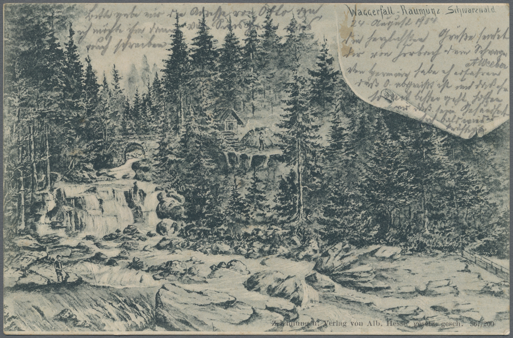 Lot 19533 - Ansichtskarten: Baden-Württemberg  -  Auktionshaus Christoph Gärtner GmbH & Co. KG Sale #46 Single lots Germany - and picture post cards