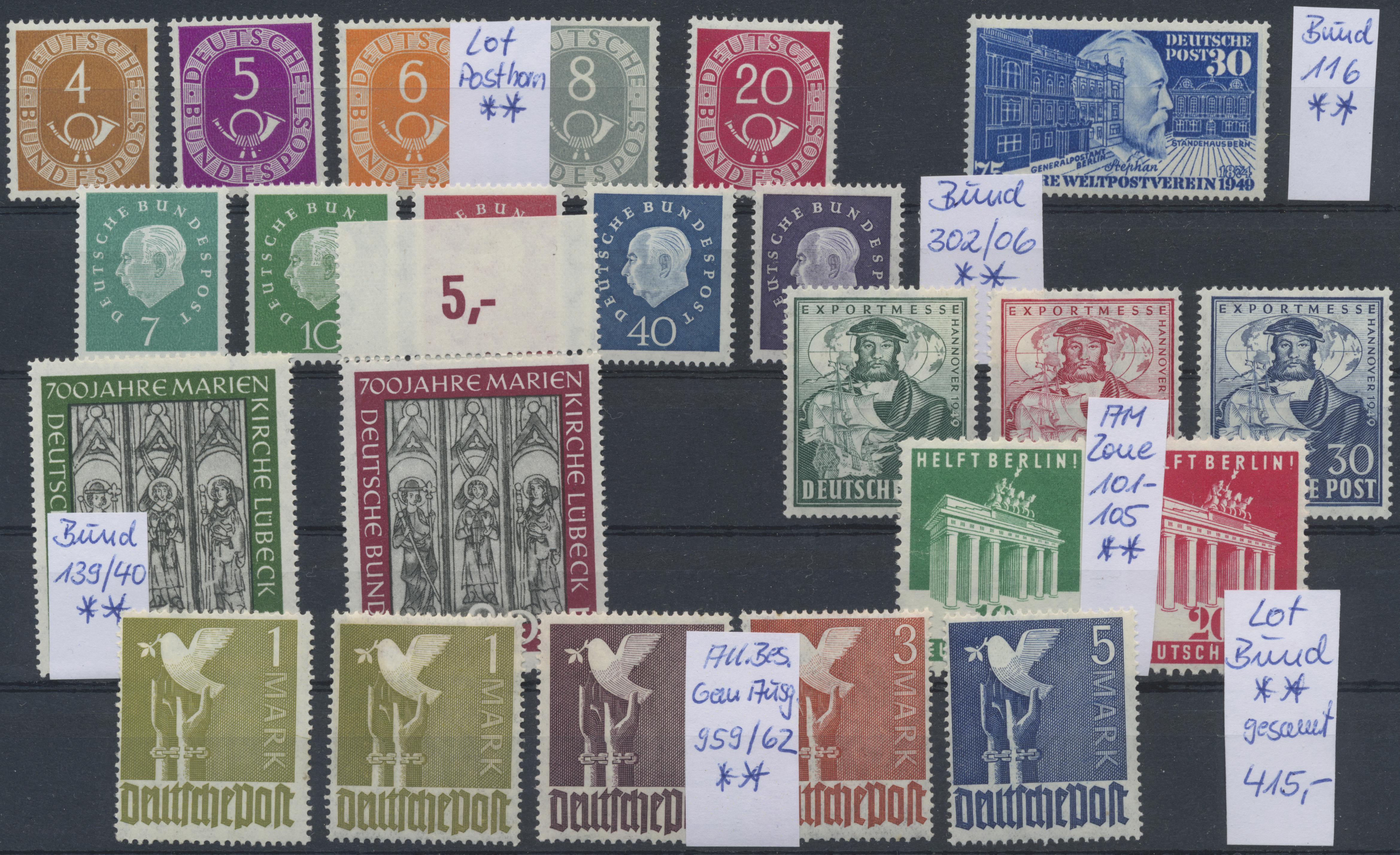 Lot 37562 - bundesrepublik deutschland  -  Auktionshaus Christoph Gärtner GmbH & Co. KG Sale #44 Collections Germany
