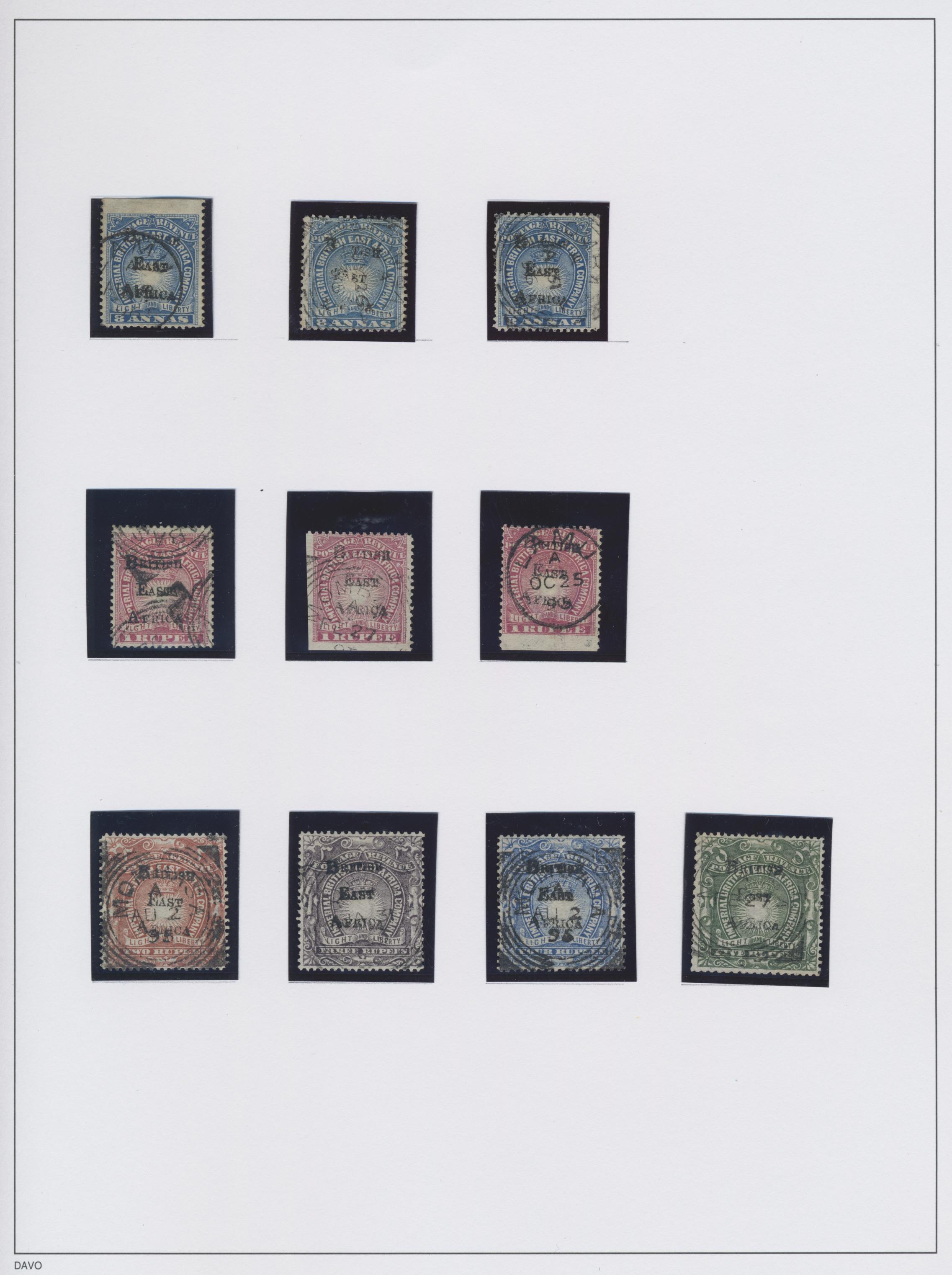 Lot 13024 - britisch-ostafrika und uganda  -  Auktionshaus Christoph Gärtner GmbH & Co. KG Sale #48 collections Overseas  Airmail / Ship mail & Thematics