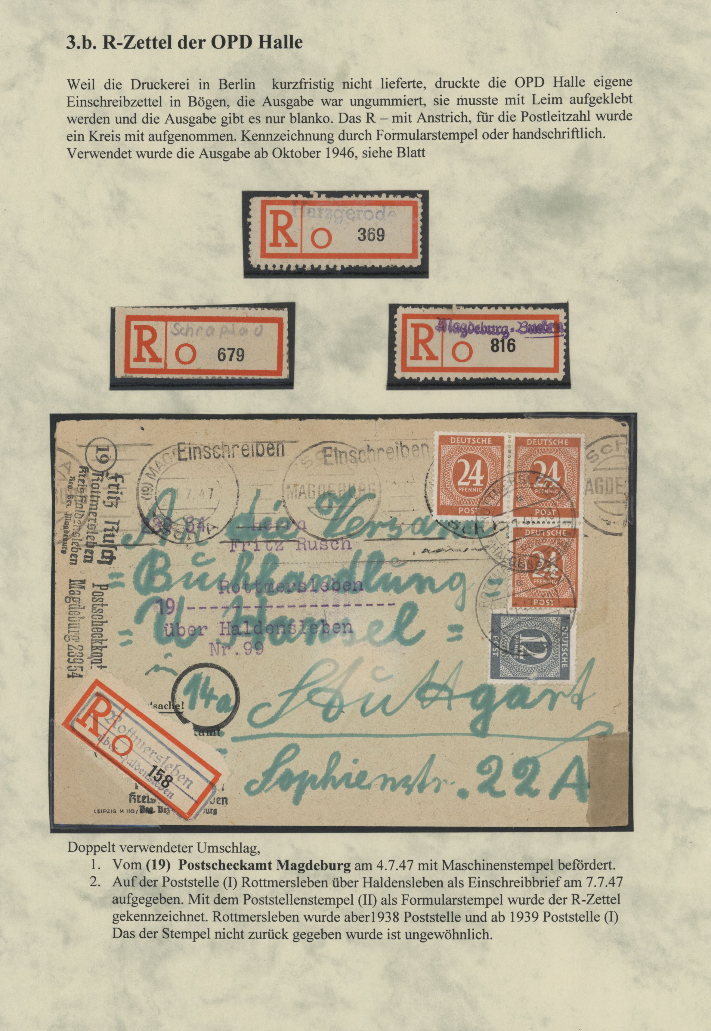 Lot 20174 - deutschland  -  Auktionshaus Christoph Gärtner GmbH & Co. KG Sale #48 Estates, supplement Germany before & after 1945
