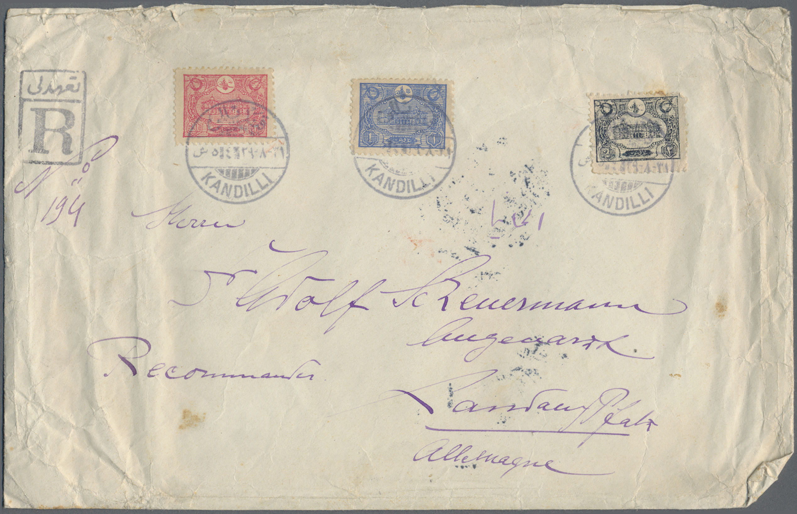 Lot 02961 - türkei  -  Auktionshaus Christoph Gärtner GmbH & Co. KG Special Auction 26.- 28. May 2020 Day 2 Collections Part 2
