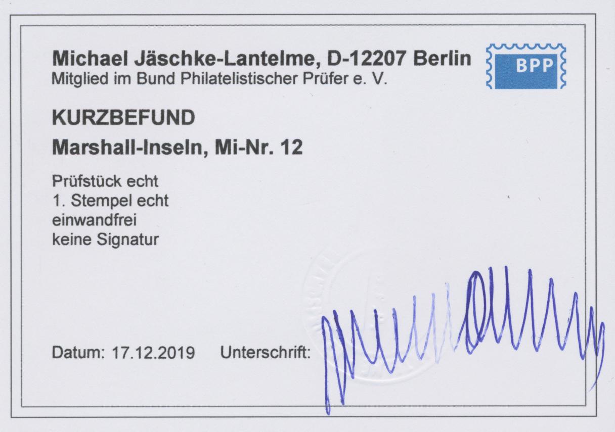 Lot 16498 - Deutsche Kolonien - Marshall-Inseln  -  Auktionshaus Christoph Gärtner GmbH & Co. KG Sale #47 Single lots: Germany, Picture Postcards