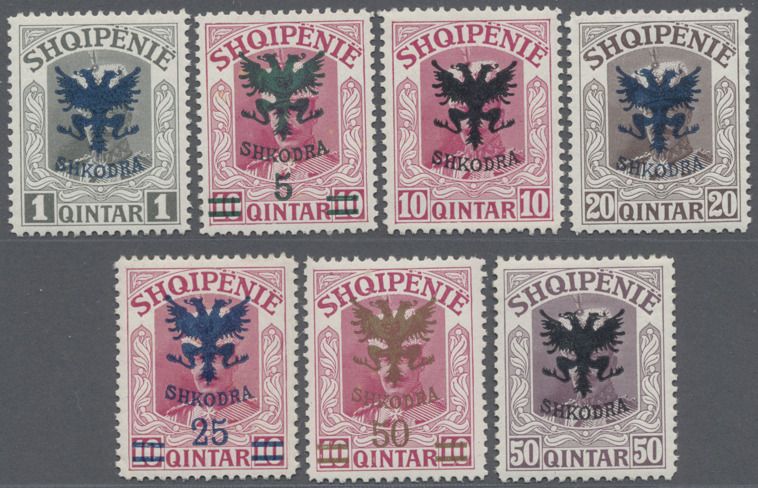 Lot 01511 - albanien  -  Auktionshaus Christoph Gärtner GmbH & Co. KG Special Auction 26.- 28. May 2020 Day 1 Collections Part 1