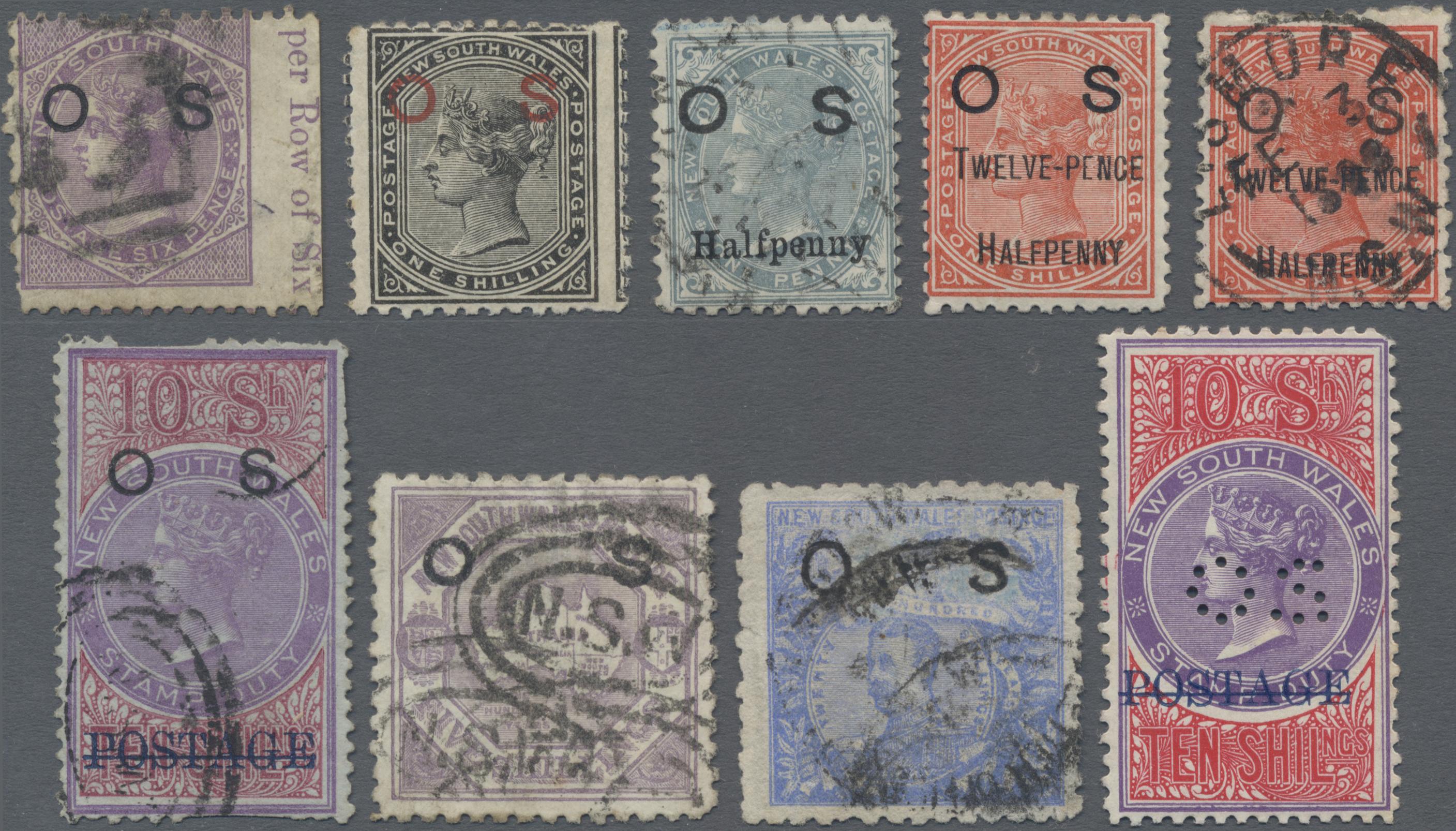 Lot 16069 - Neusüdwales - Dienstmarken  -  Auktionshaus Christoph Gärtner GmbH & Co. KG 50th Auction Anniversary Auction - Day 5