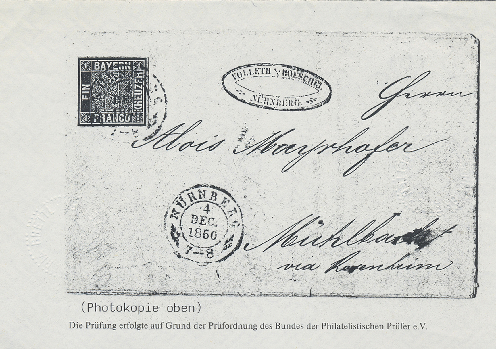 Lot 17061 - Bayern - Marken und Briefe  -  Auktionshaus Christoph Gärtner GmbH & Co. KG Auction #40 Germany, Picture Post Cards, Collections Overseas, Thematics