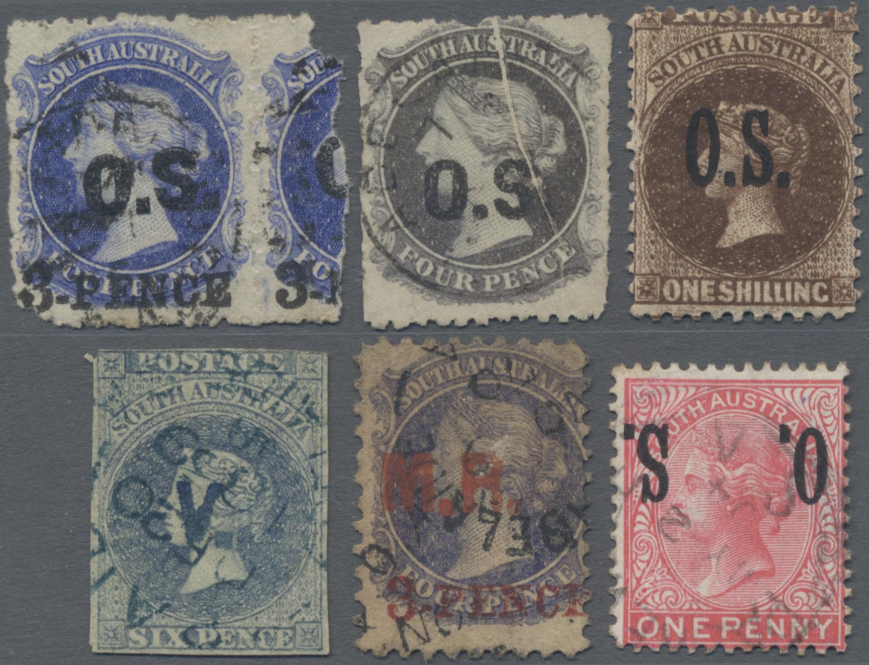 Lot 16075 - Südaustralien - Dienstmarken allgemein  -  Auktionshaus Christoph Gärtner GmbH & Co. KG 50th Auction Anniversary Auction - Day 5
