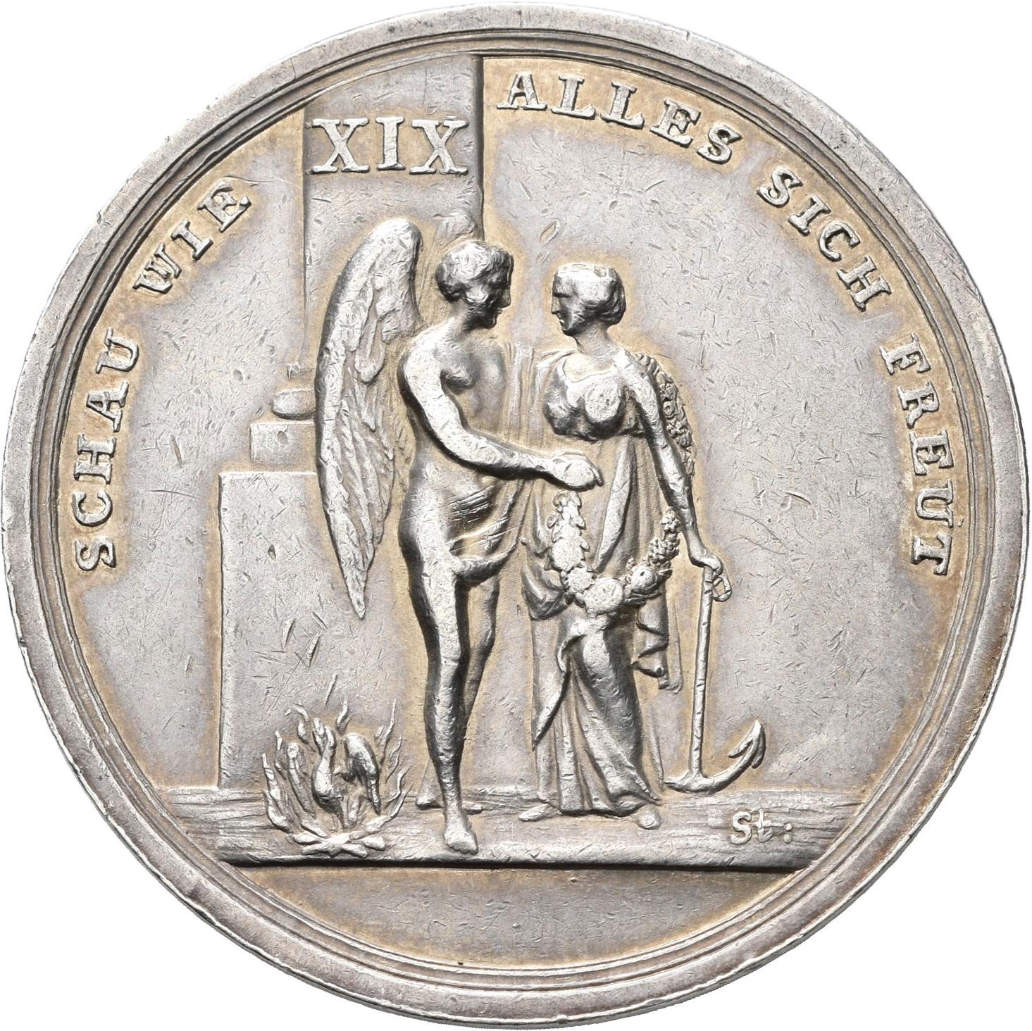 Lot 02401 - Medaillen Deutschland - Geographisch   Münzen  -  Auktionshaus Christoph Gärtner GmbH & Co. KG Sale #48 The Coins & The Picture Post Cards