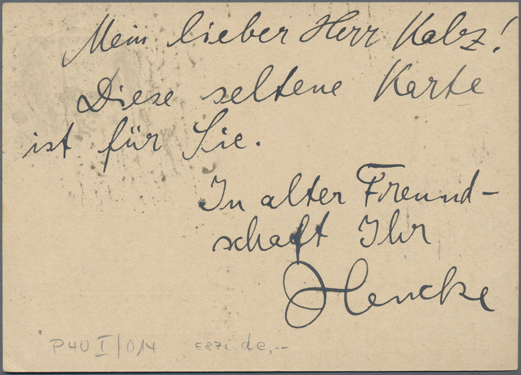 Lot 16088 - Danzig - Ganzsachen  -  Auktionshaus Christoph Gärtner GmbH & Co. KG Sale #46 Single lots Germany - and picture post cards