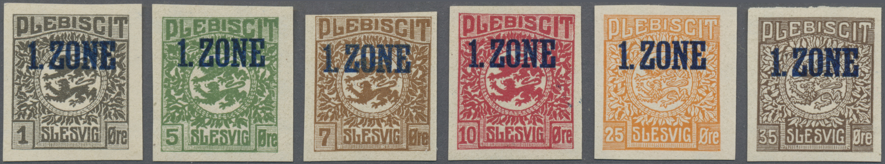 Lot 11590 - Deutsche Abstimmungsgebiete: Schleswig  -  Auktionshaus Christoph Gärtner GmbH & Co. KG Sale #48 The Single Lots Philatelie