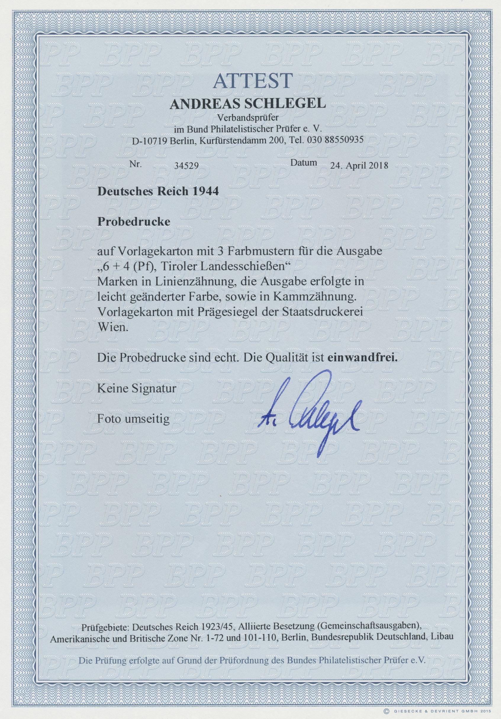 Lot 15979 - Deutsches Reich - 3. Reich  -  Auktionshaus Christoph Gärtner GmbH & Co. KG Sale #47 Single lots: Germany, Picture Postcards