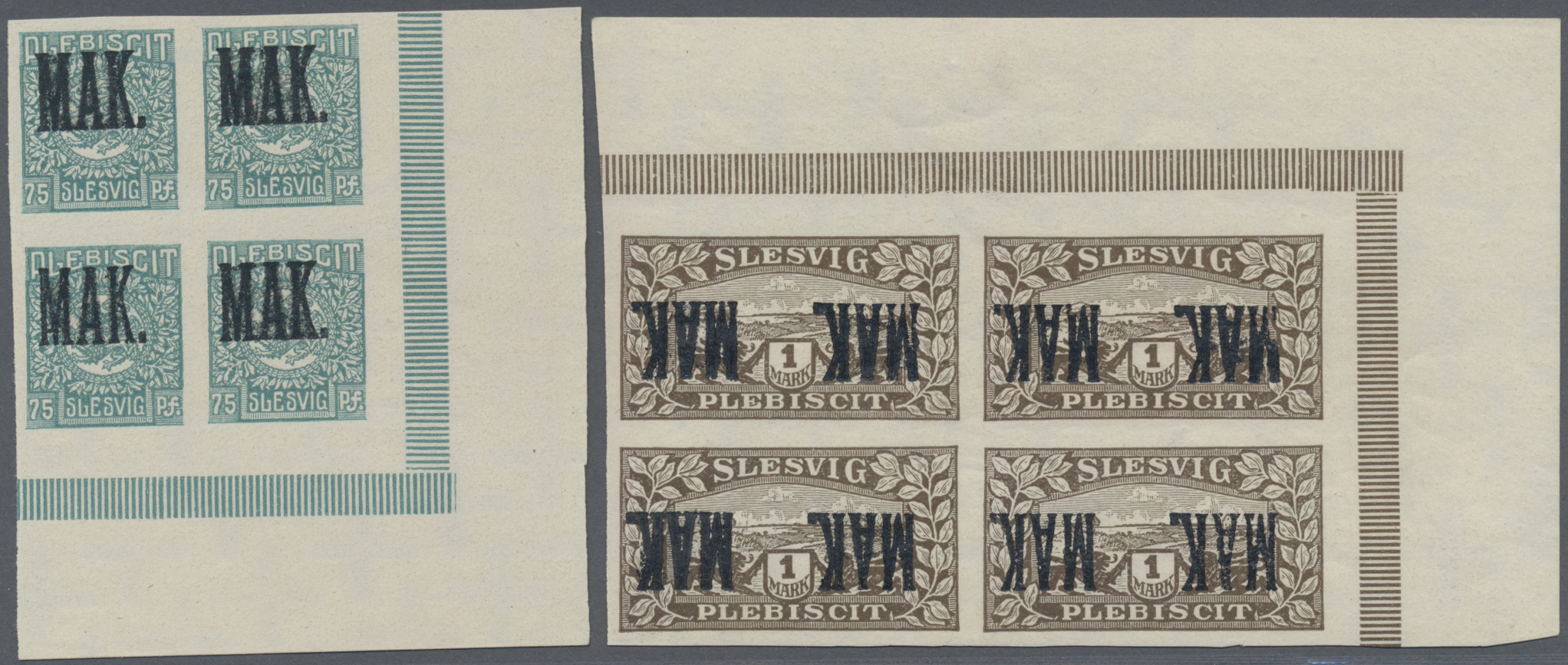 Lot 11587 - Deutsche Abstimmungsgebiete: Schleswig  -  Auktionshaus Christoph Gärtner GmbH & Co. KG Sale #48 The Single Lots Philatelie
