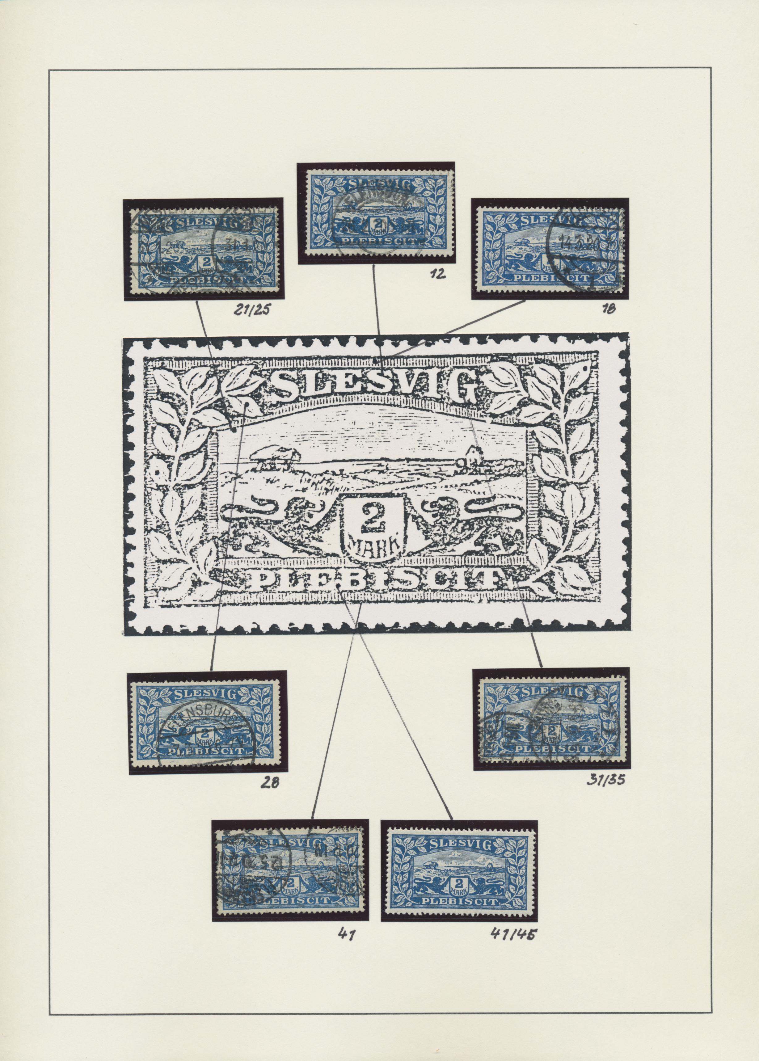 Lot 20943 - Deutsche Abstimmungsgebiete: Schleswig  -  Auktionshaus Christoph Gärtner GmbH & Co. KG Sale #48 Estates, supplement Germany before & after 1945