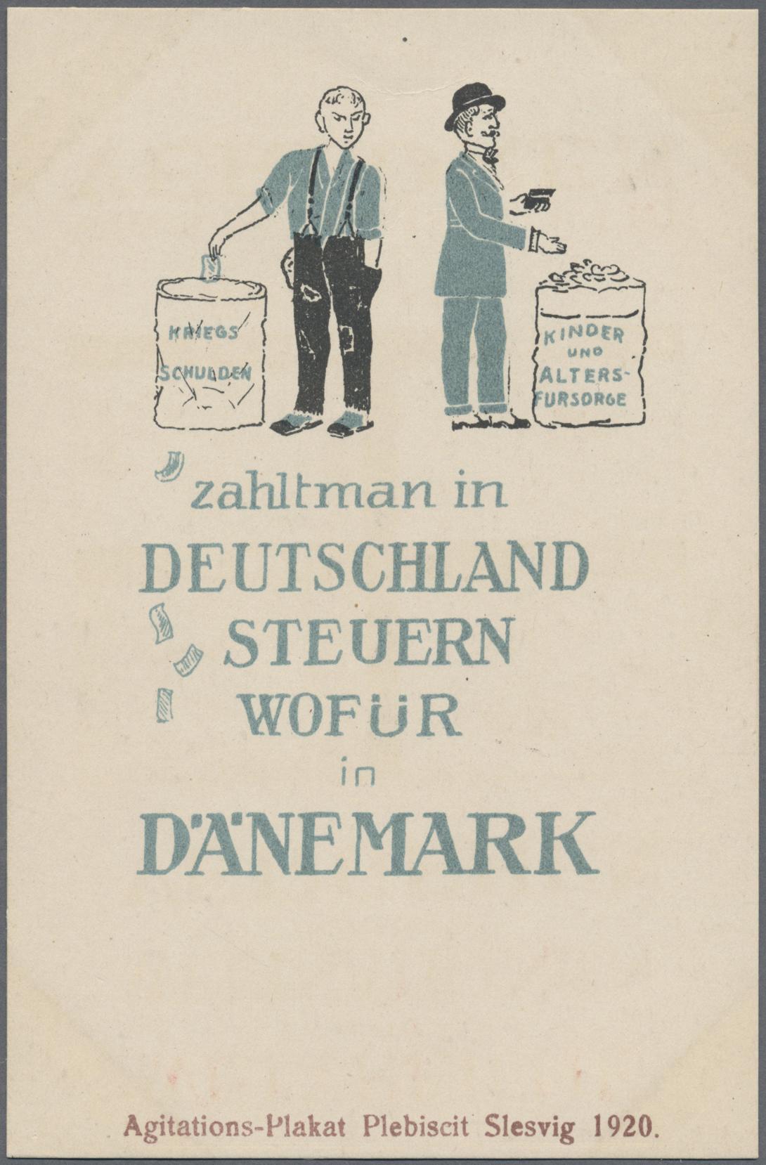 Lot 28888 - Deutsche Abstimmungsgebiete: Schleswig  -  Auktionshaus Christoph Gärtner GmbH & Co. KG Sale #46 Gollcetions Germany - including the suplement