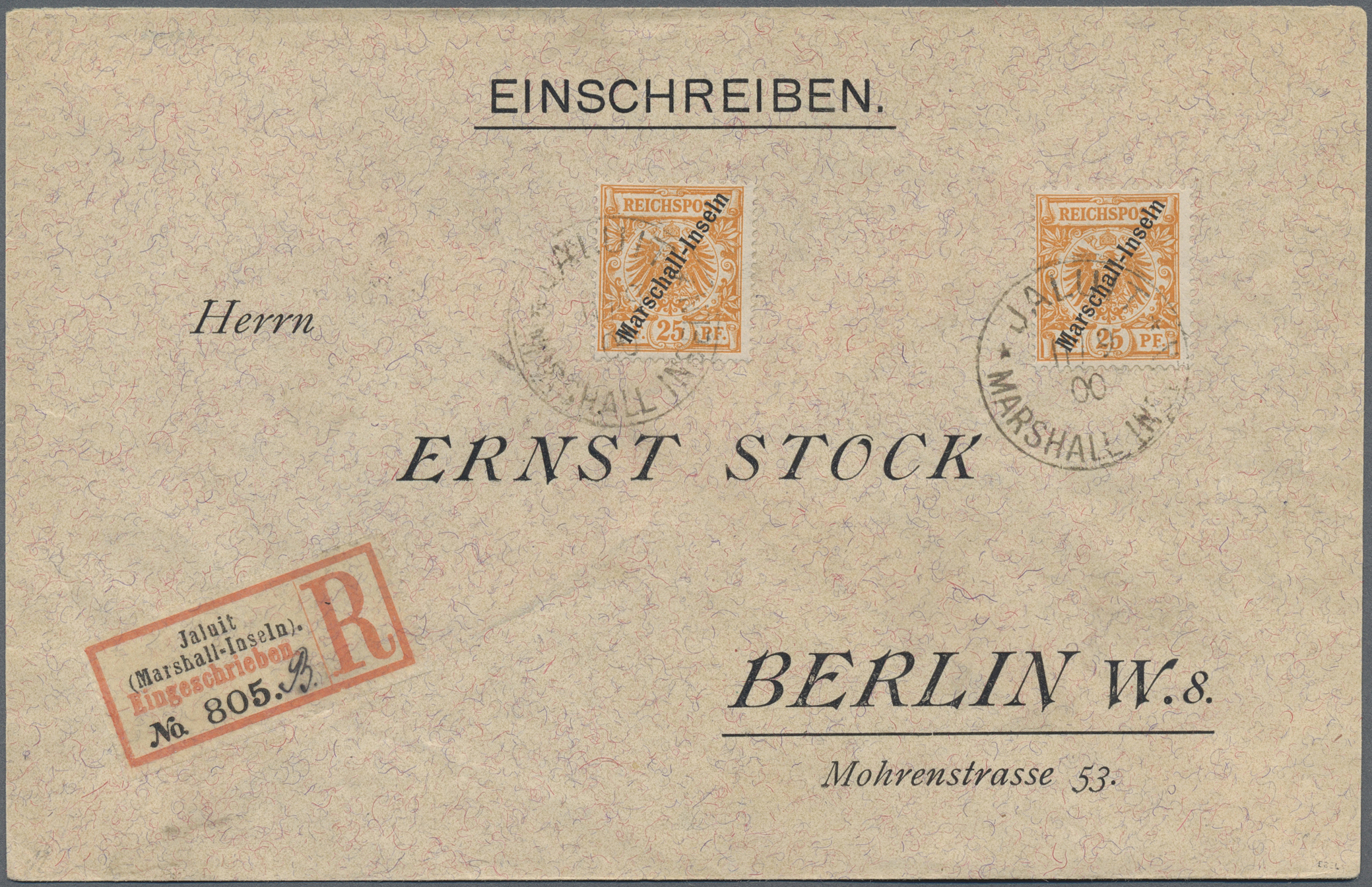 Lot 18769 - Deutsche Kolonien - Marshall-Inseln  -  Auktionshaus Christoph Gärtner GmbH & Co. KG Auction #40 Germany, Picture Post Cards, Collections Overseas, Thematics