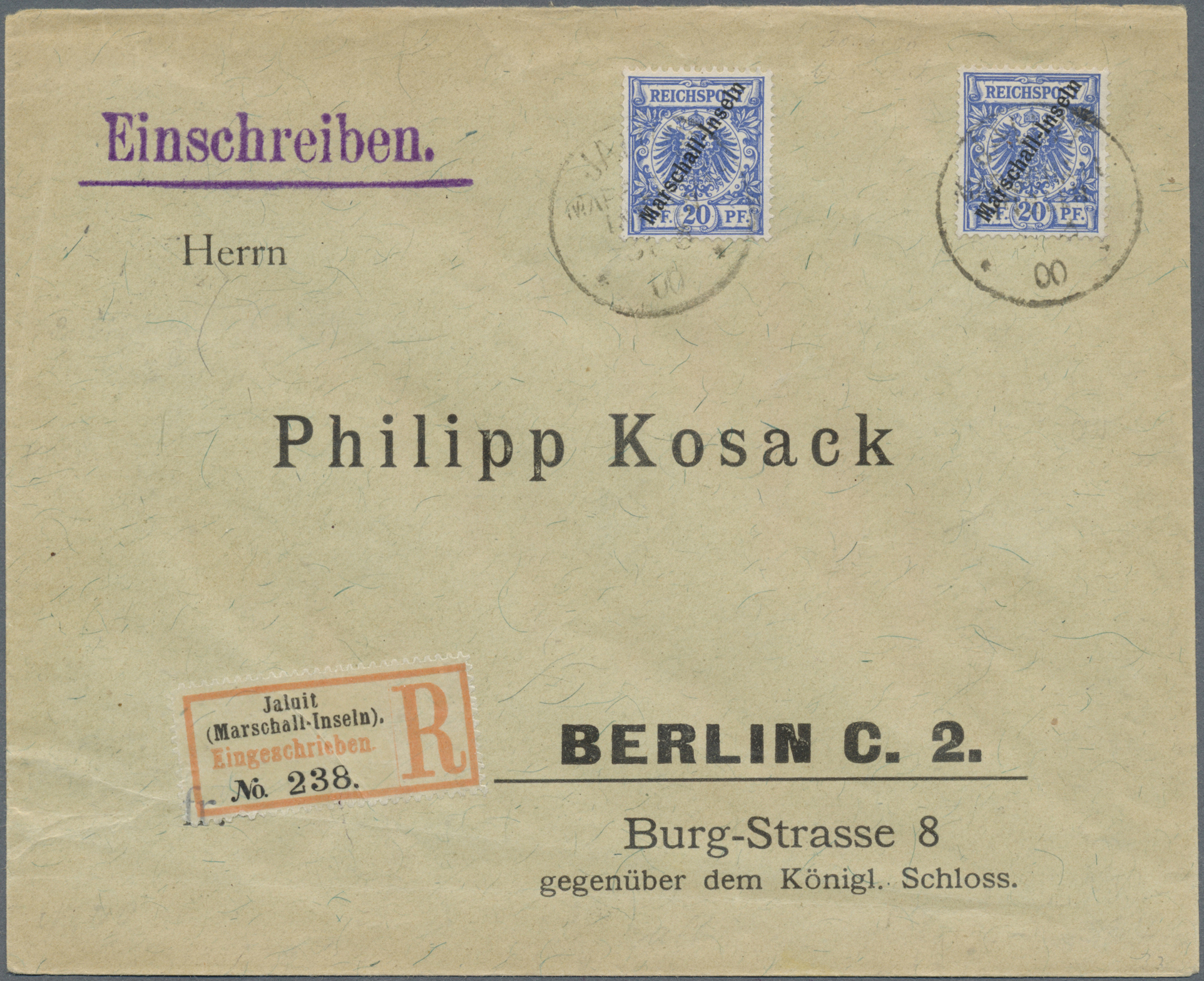 Lot 18767 - Deutsche Kolonien - Marshall-Inseln  -  Auktionshaus Christoph Gärtner GmbH & Co. KG Auction #40 Germany, Picture Post Cards, Collections Overseas, Thematics