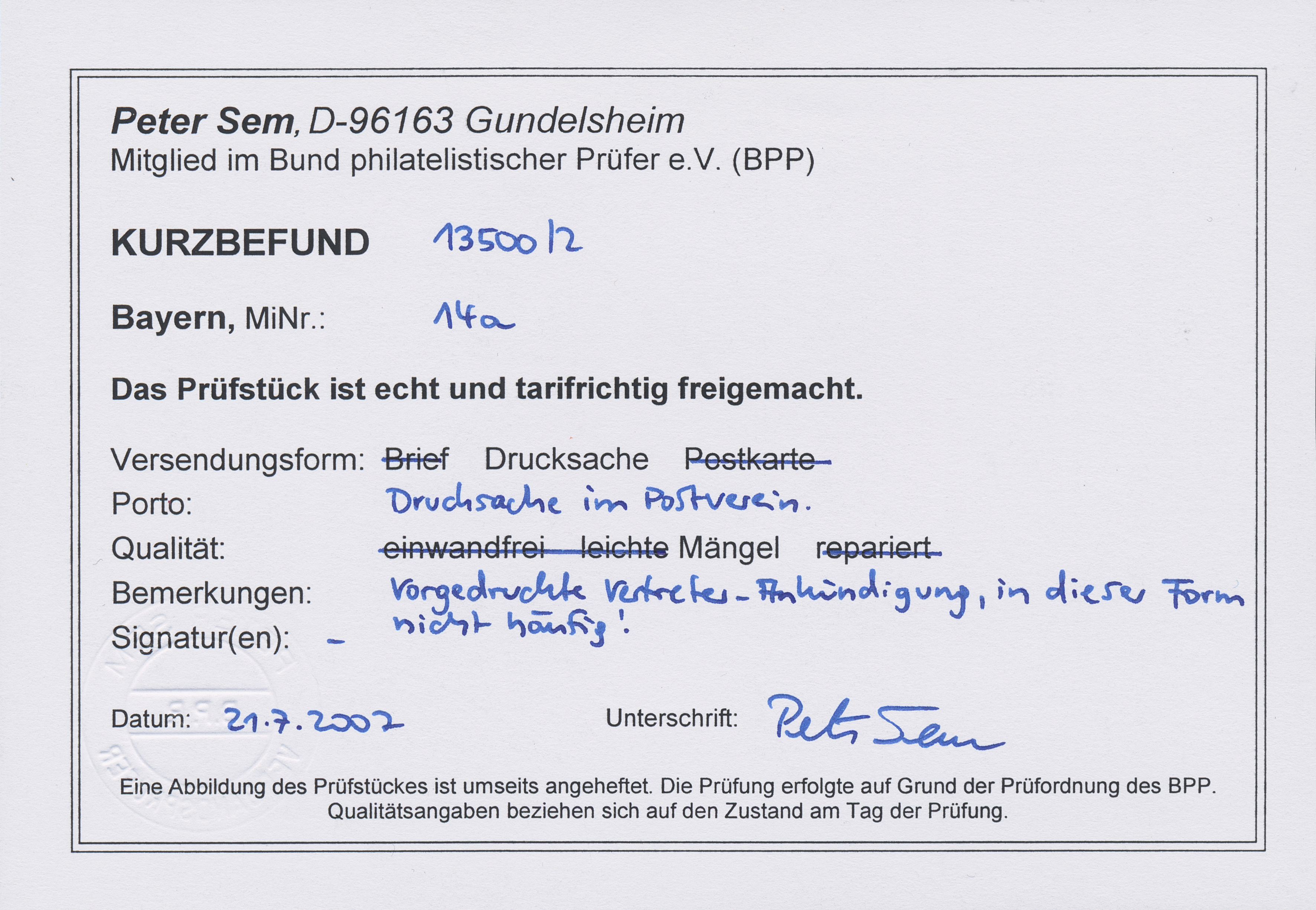 Stamp Auction Bayern Marken Und Briefe Auction 40 Collections