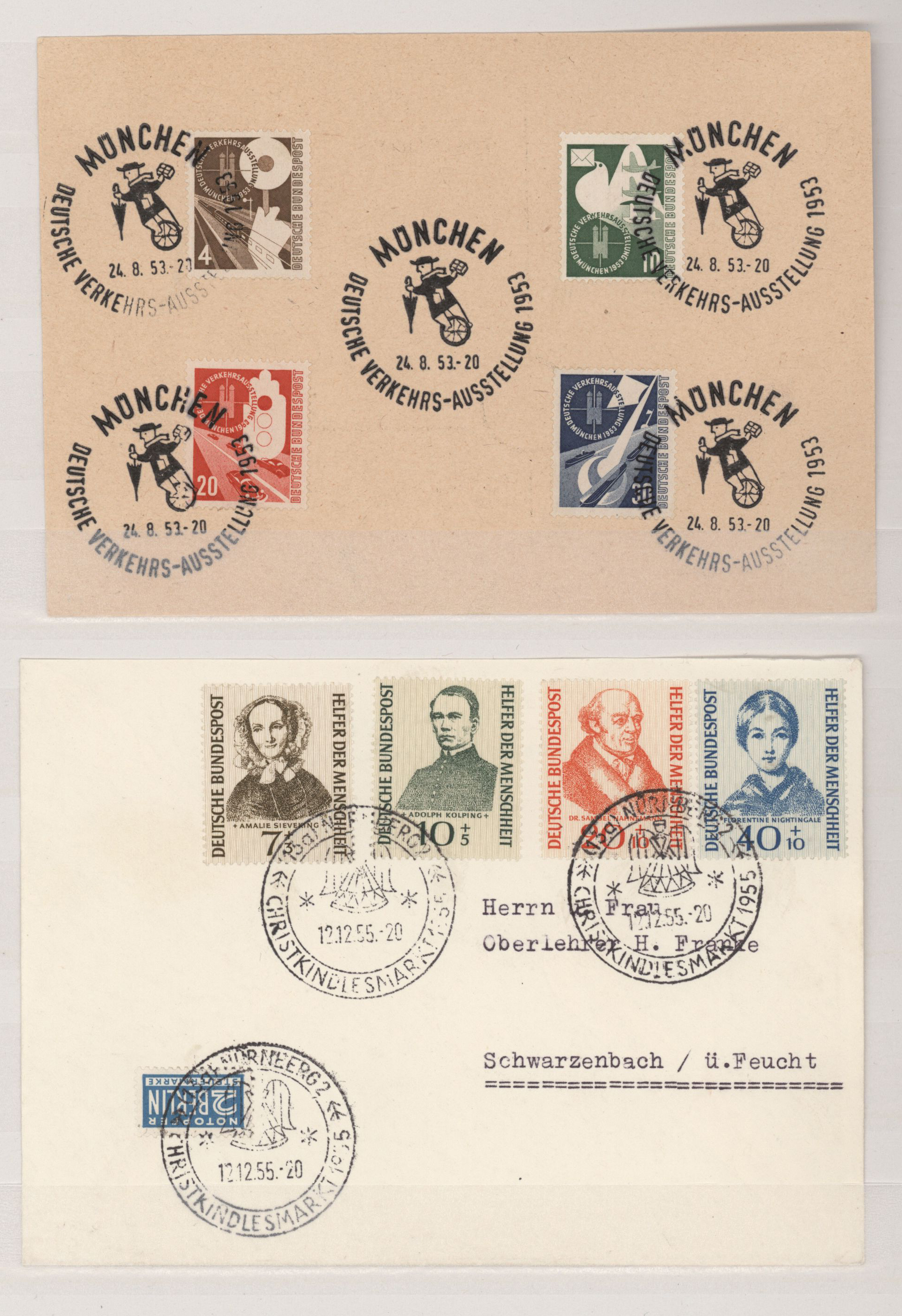 Lot 24434 - bundesrepublik deutschland  -  Auktionshaus Christoph Gärtner GmbH & Co. KG 50th Auction Anniversary Auction - Day 7