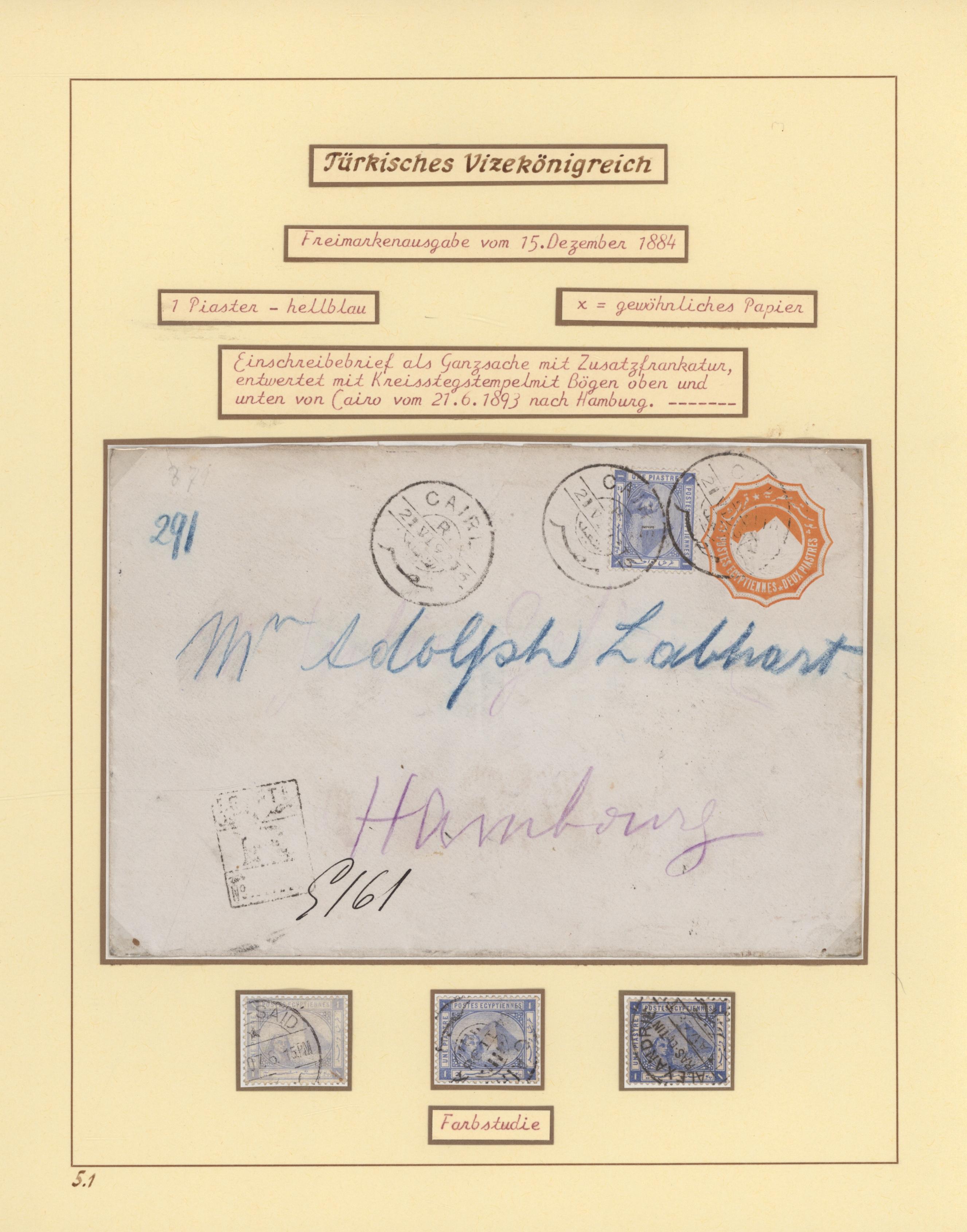 Lot 09009 - ägypten  -  Auktionshaus Christoph Gärtner GmbH & Co. KG 51th Auction - Day 4