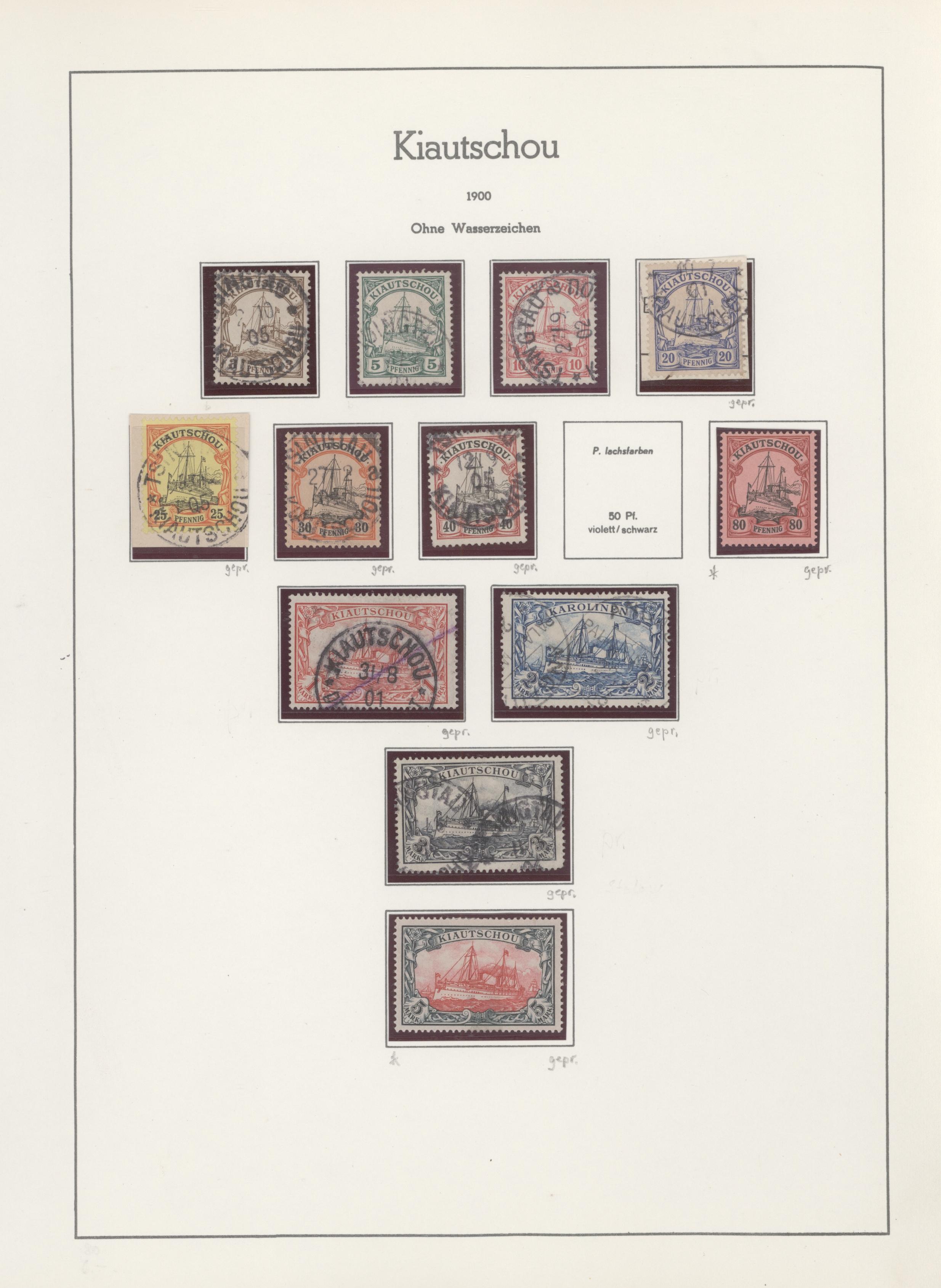 Lot 14685 - Deutsche Kolonien - Kiautschou  -  Auktionshaus Christoph Gärtner GmbH & Co. KG 51th Auction - Day 5