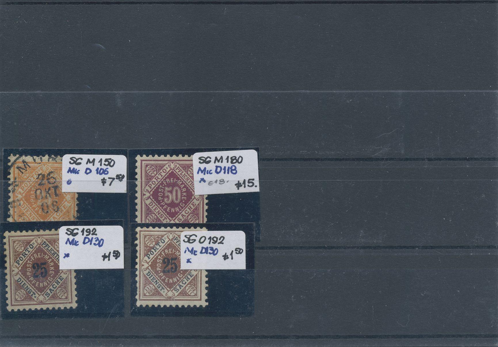 Lot 36129 - altdeutschland und deutsches reich  -  Auktionshaus Christoph Gärtner GmbH & Co. KG Sale #44 Collections Germany