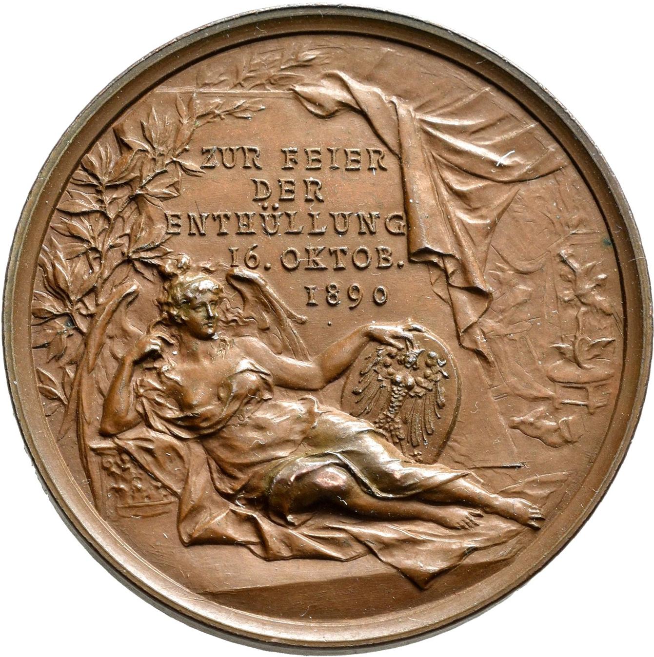 Lot 02417 - Medaillen Deutschland - Geographisch | Münzen  -  Auktionshaus Christoph Gärtner GmbH & Co. KG Sale #48 The Coins & The Picture Post Cards