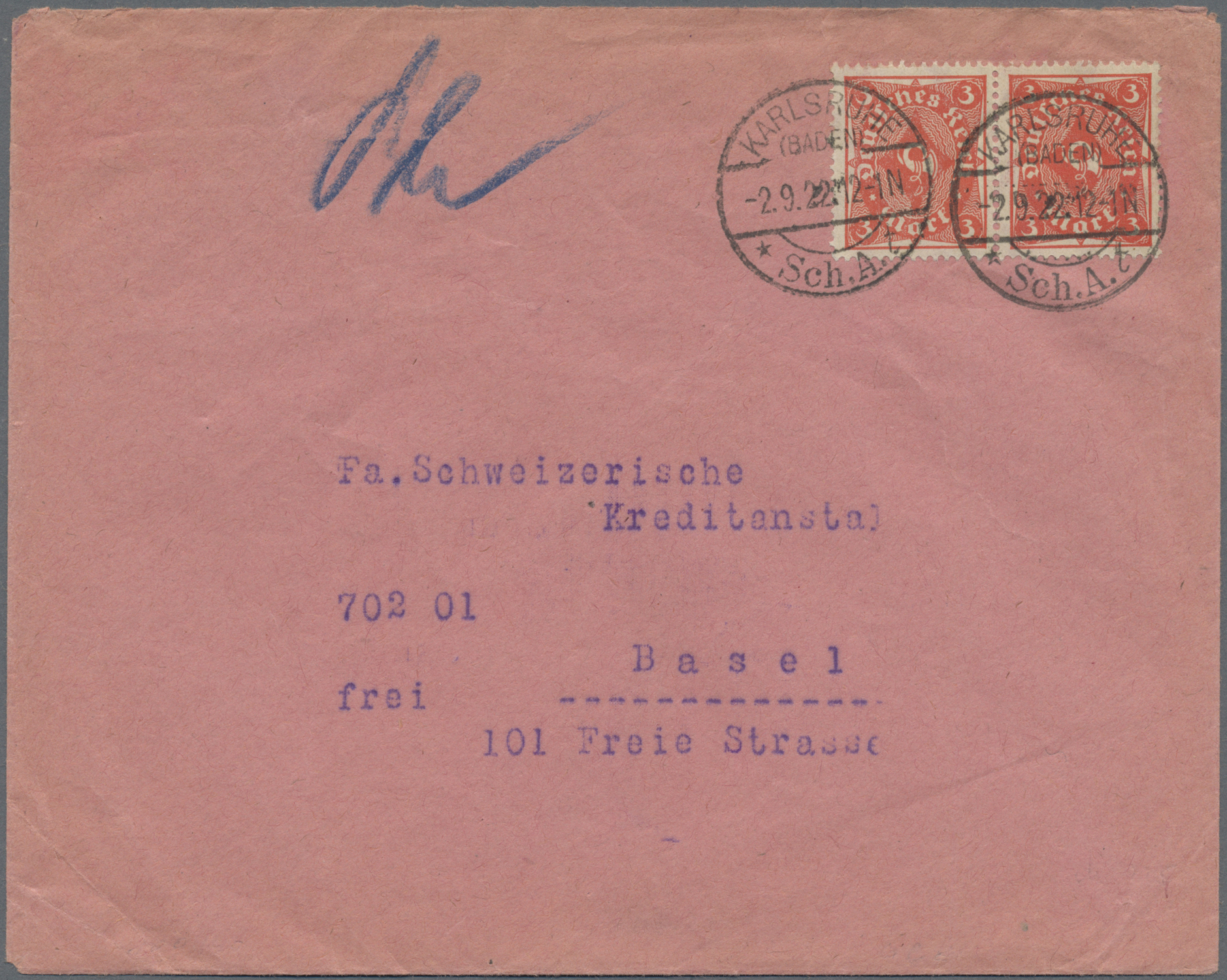 Lot 36620 - Deutsches Reich - Inflation  -  Auktionshaus Christoph Gärtner GmbH & Co. KG Sale #44 Collections Germany