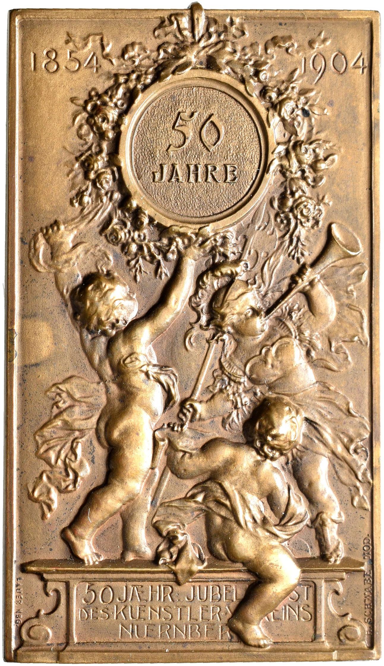 Lot 02428 - Medaillen Deutschland - Geographisch   Münzen  -  Auktionshaus Christoph Gärtner GmbH & Co. KG Sale #48 The Coins & The Picture Post Cards
