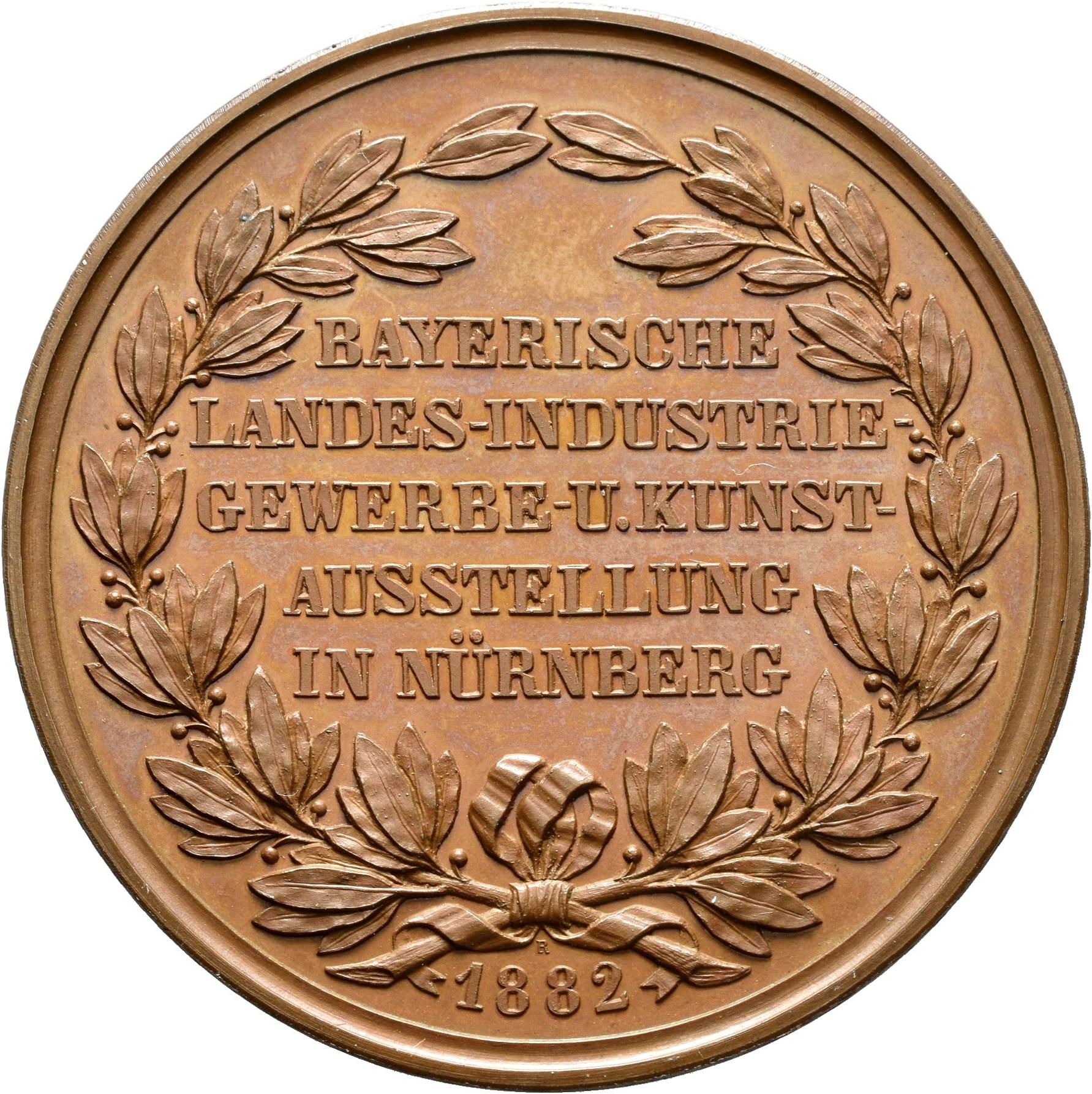 Lot 02414 - Medaillen Deutschland - Geographisch | Münzen  -  Auktionshaus Christoph Gärtner GmbH & Co. KG Sale #48 The Coins & The Picture Post Cards