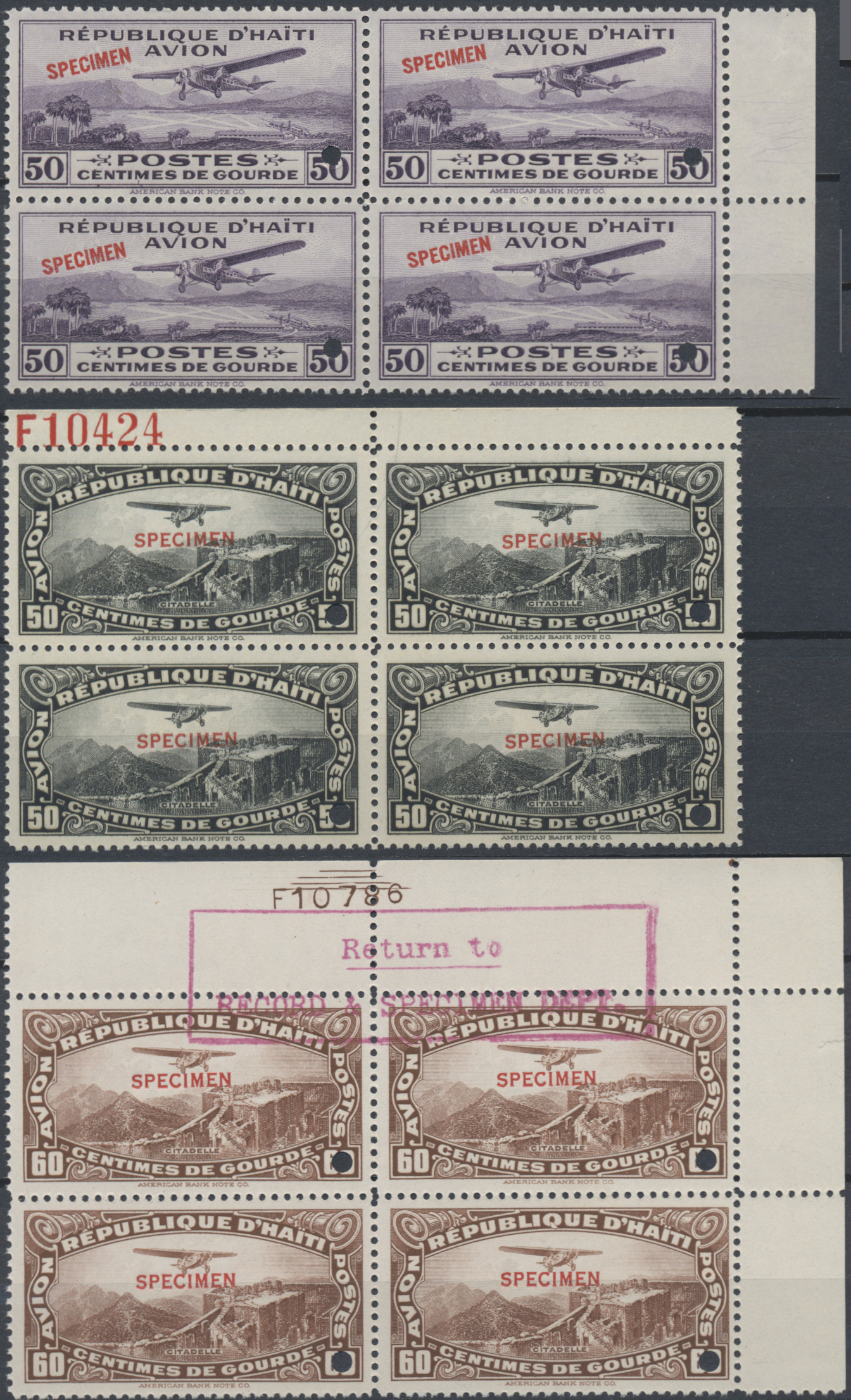 Lot 13400 - haiti  -  Auktionshaus Christoph Gärtner GmbH & Co. KG Sale #48 collections Overseas  Airmail / Ship mail & Thematics
