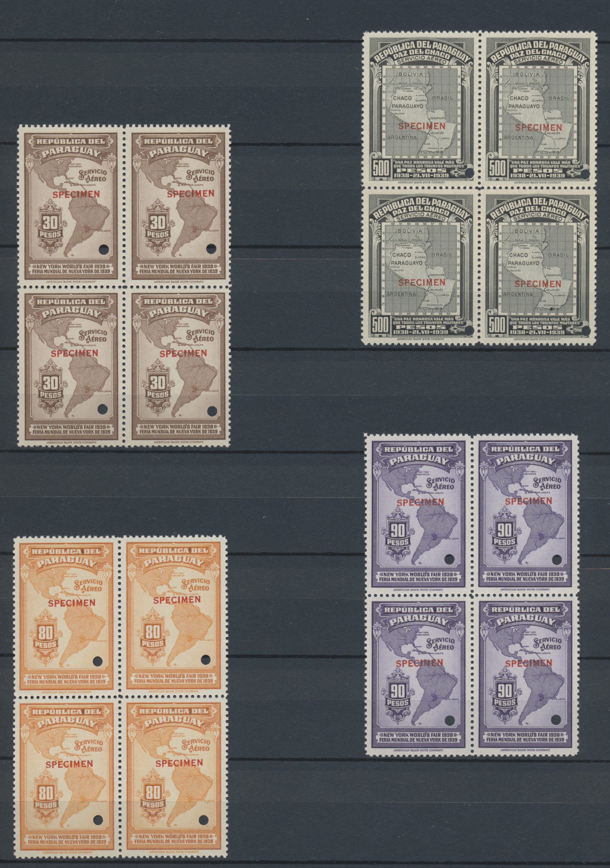 Lot 09875 - Paraguay  -  Auktionshaus Christoph Gärtner GmbH & Co. KG 51th Auction - Day 4