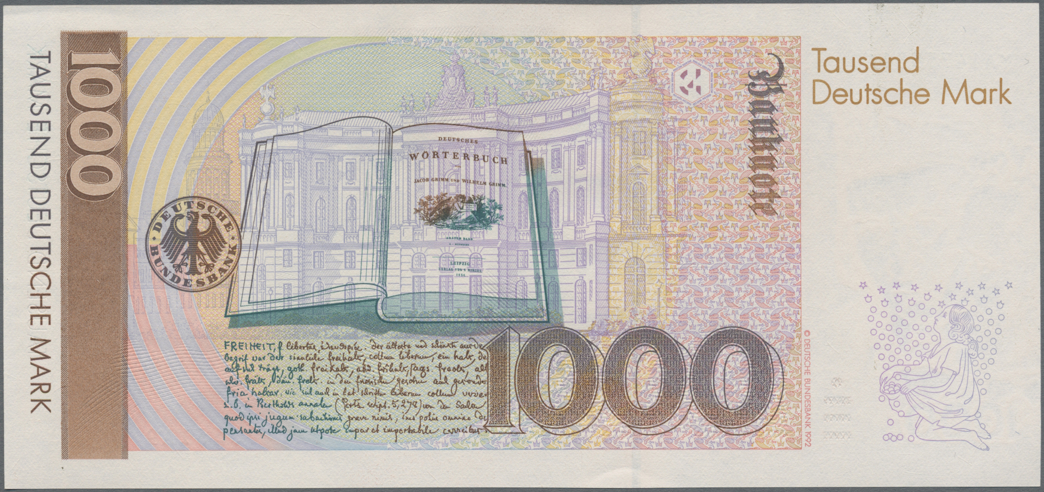 Lot 03454 - Deutschland - Bank Deutscher Länder + Bundesrepublik Deutschland | Banknoten  -  Auktionshaus Christoph Gärtner GmbH & Co. KG Sale #45 Banknotes Germany/Numismatics