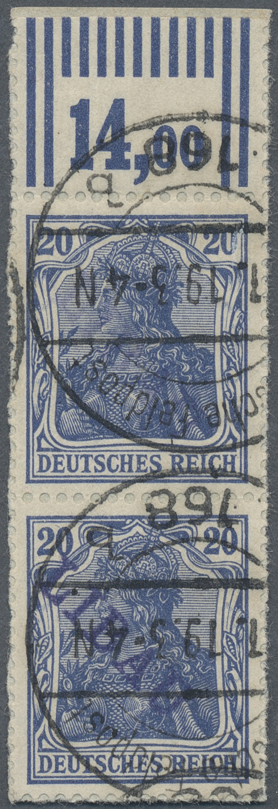Lot 18862 - Deutsche Besetzung I. WK: Postgebiet Ober. Ost - Libau  -  Auktionshaus Christoph Gärtner GmbH & Co. KG Auction #40 Germany, Picture Post Cards, Collections Overseas, Thematics