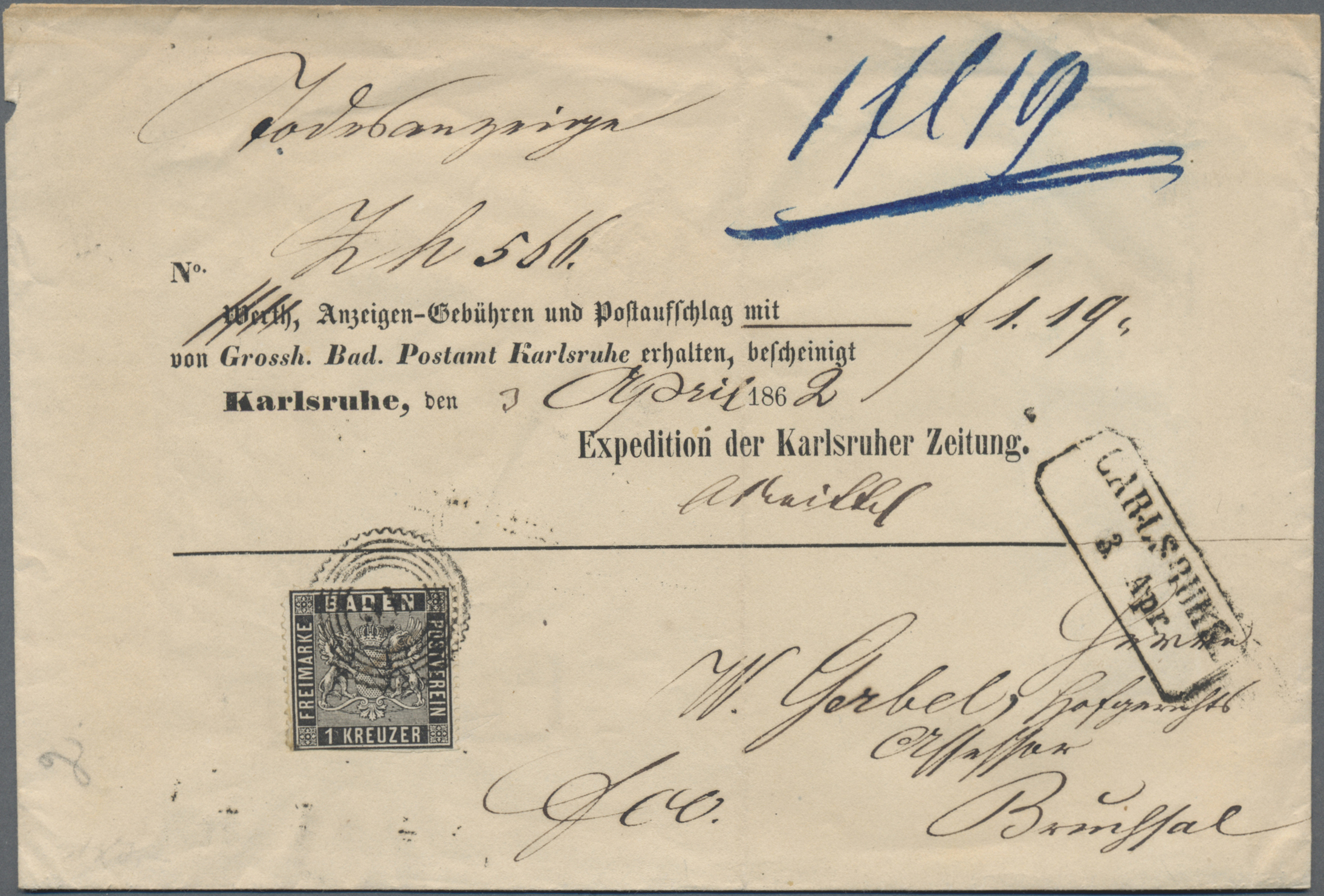 Lot 30606 - nachlässe  -  Auktionshaus Christoph Gärtner GmbH & Co. KG Sale #45- Collections Germany