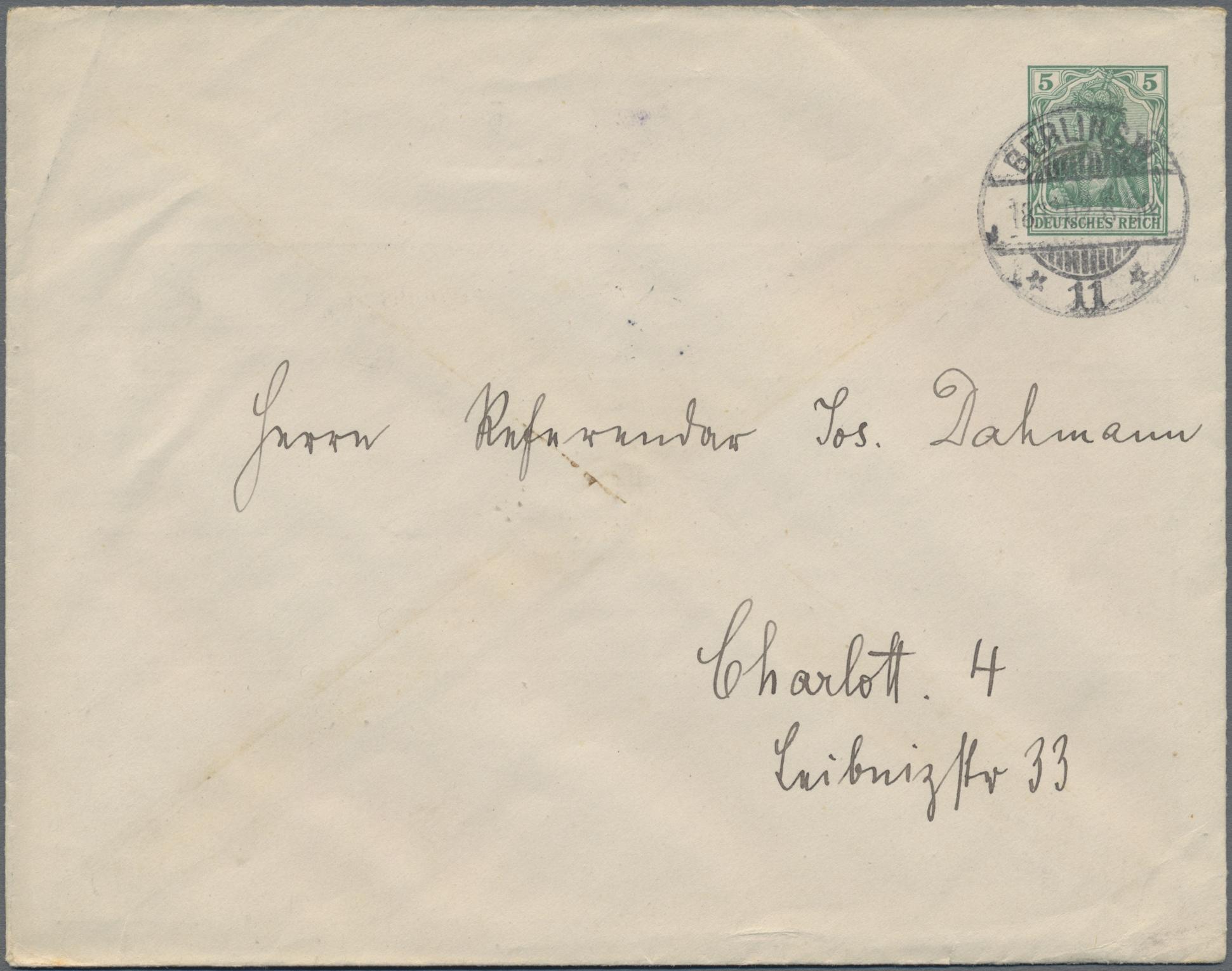 Lot 00191 - thematik: anzeigenganzsachen / advertising postal stationery  -  Auktionshaus Christoph Gärtner GmbH & Co. KG Special auction