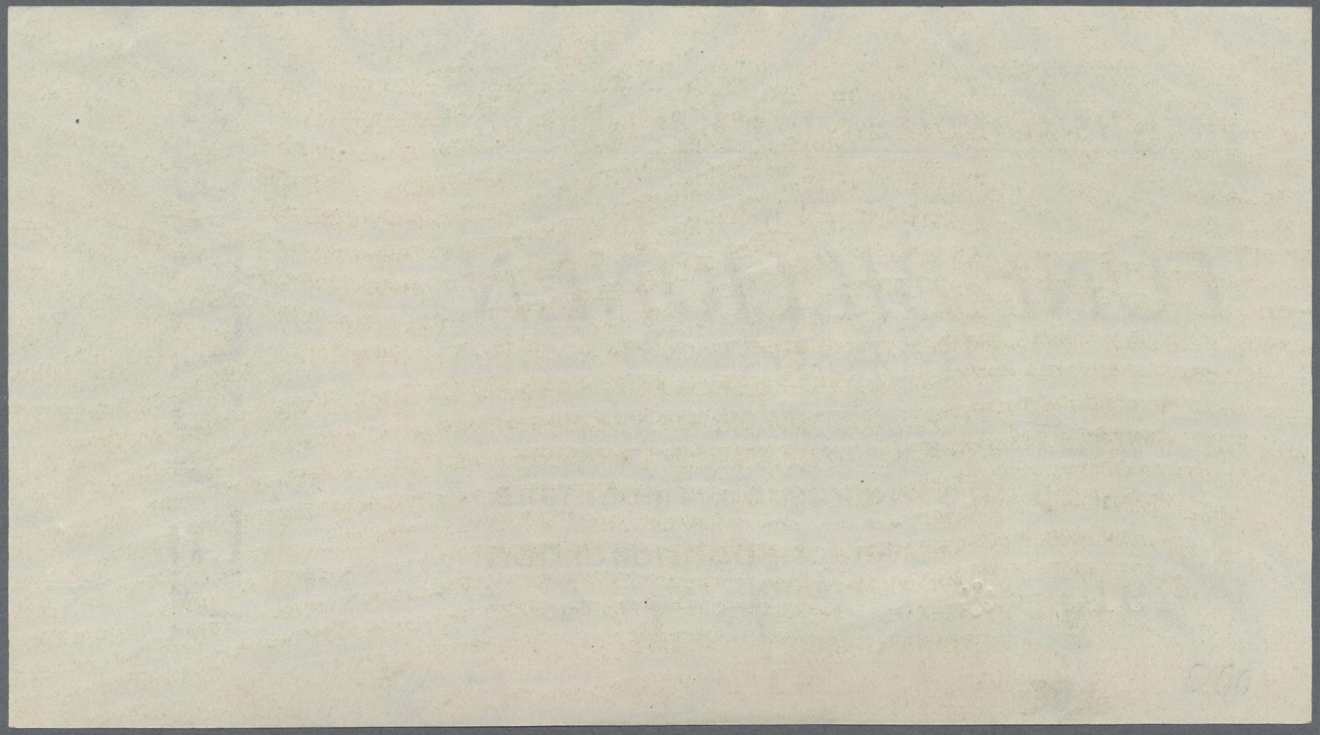 Lot 01406 - Deutschland - Reichsbahn / Reichspost | Banknoten  -  Auktionshaus Christoph Gärtner GmbH & Co. KG Sale #48 The Banknotes