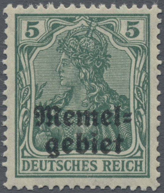 Lot 01001 - Memel  -  Auktionshaus Christoph Gärtner GmbH & Co. KG 50th Auction Anniversary Auction - Day 3