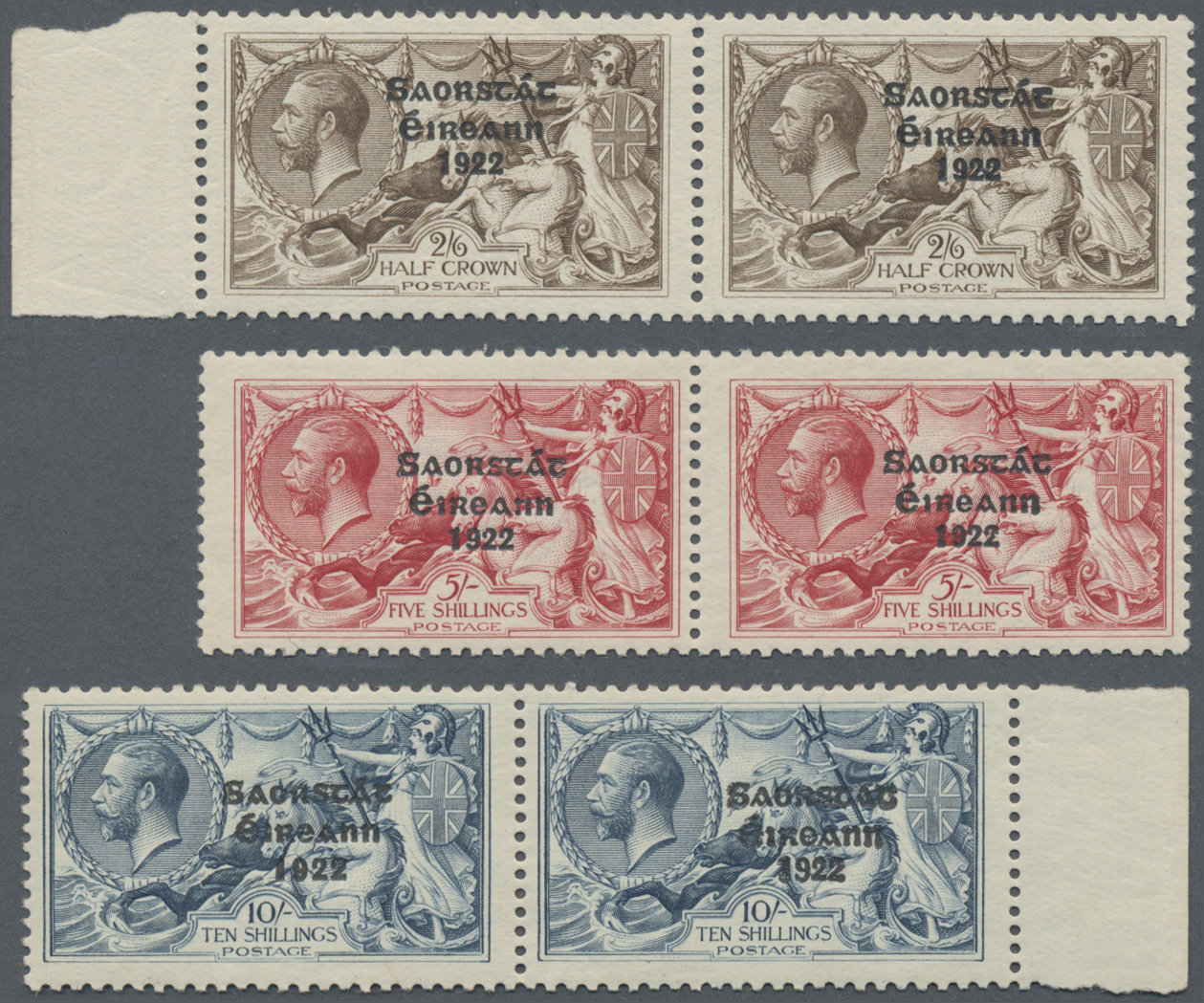 Lot 11664 - irland  -  Auktionshaus Christoph Gärtner GmbH & Co. KG Sale #46 Single lots Asia, Thematics, Overseas, Europe …