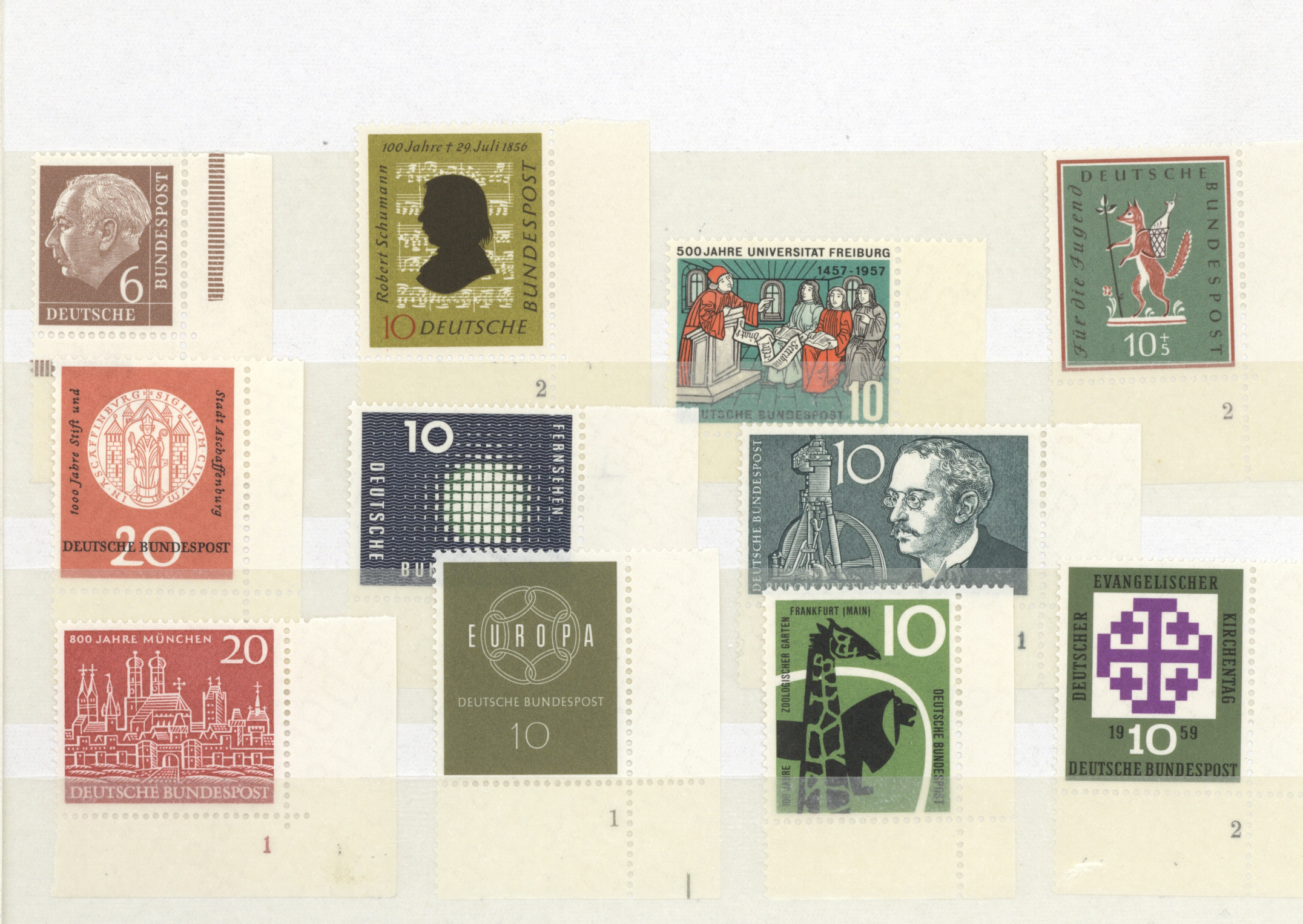 Lot 38434 - bundesrepublik deutschland  -  Auktionshaus Christoph Gärtner GmbH & Co. KG Collections Germany,  Collections Supplement, Surprise boxes #39 Day 7