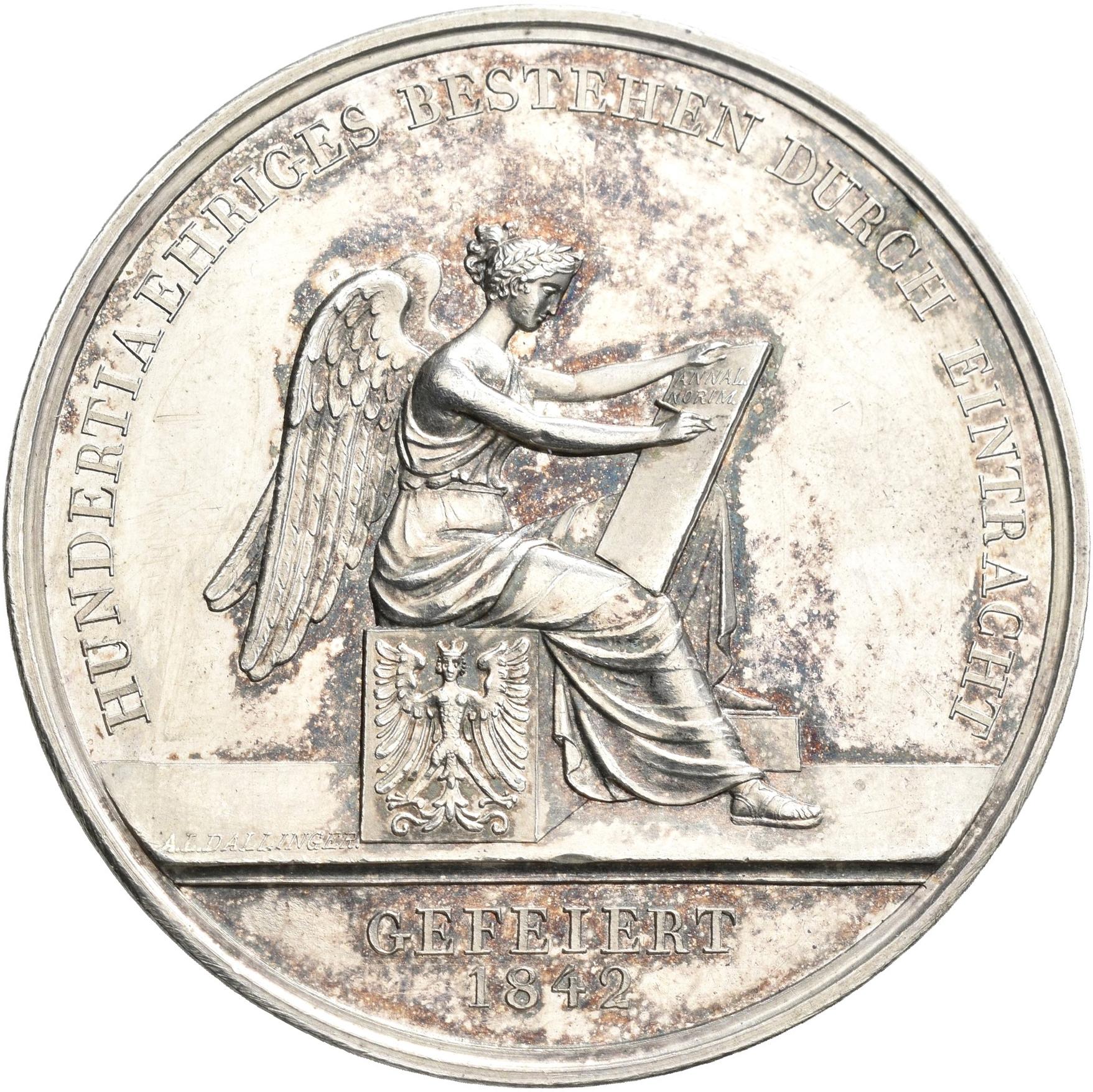 Lot 02437 - Medaillen Deutschland - Geographisch   Münzen  -  Auktionshaus Christoph Gärtner GmbH & Co. KG Sale #48 The Coins & The Picture Post Cards
