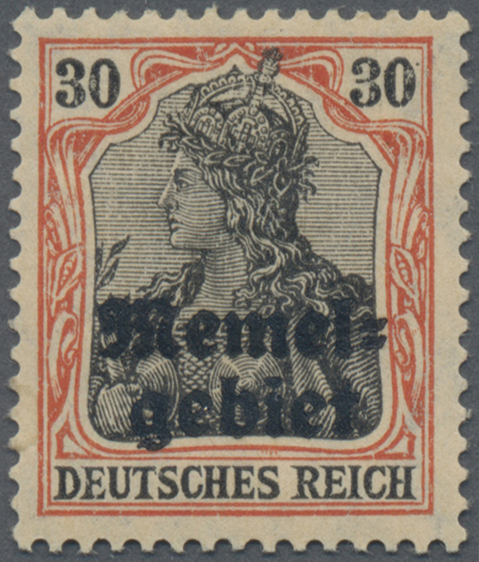 Lot 01007 - Memel  -  Auktionshaus Christoph Gärtner GmbH & Co. KG 50th Auction Anniversary Auction - Day 3