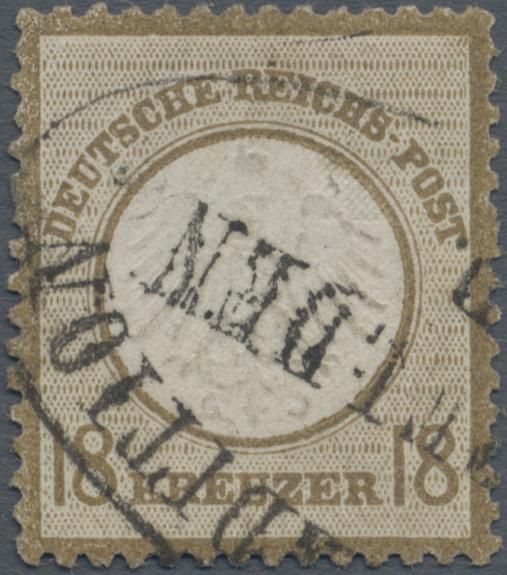 Lot 16020 - Baden - Nachverwendete Stempel  -  Auktionshaus Christoph Gärtner GmbH & Co. KG Sale #45- GERMANY