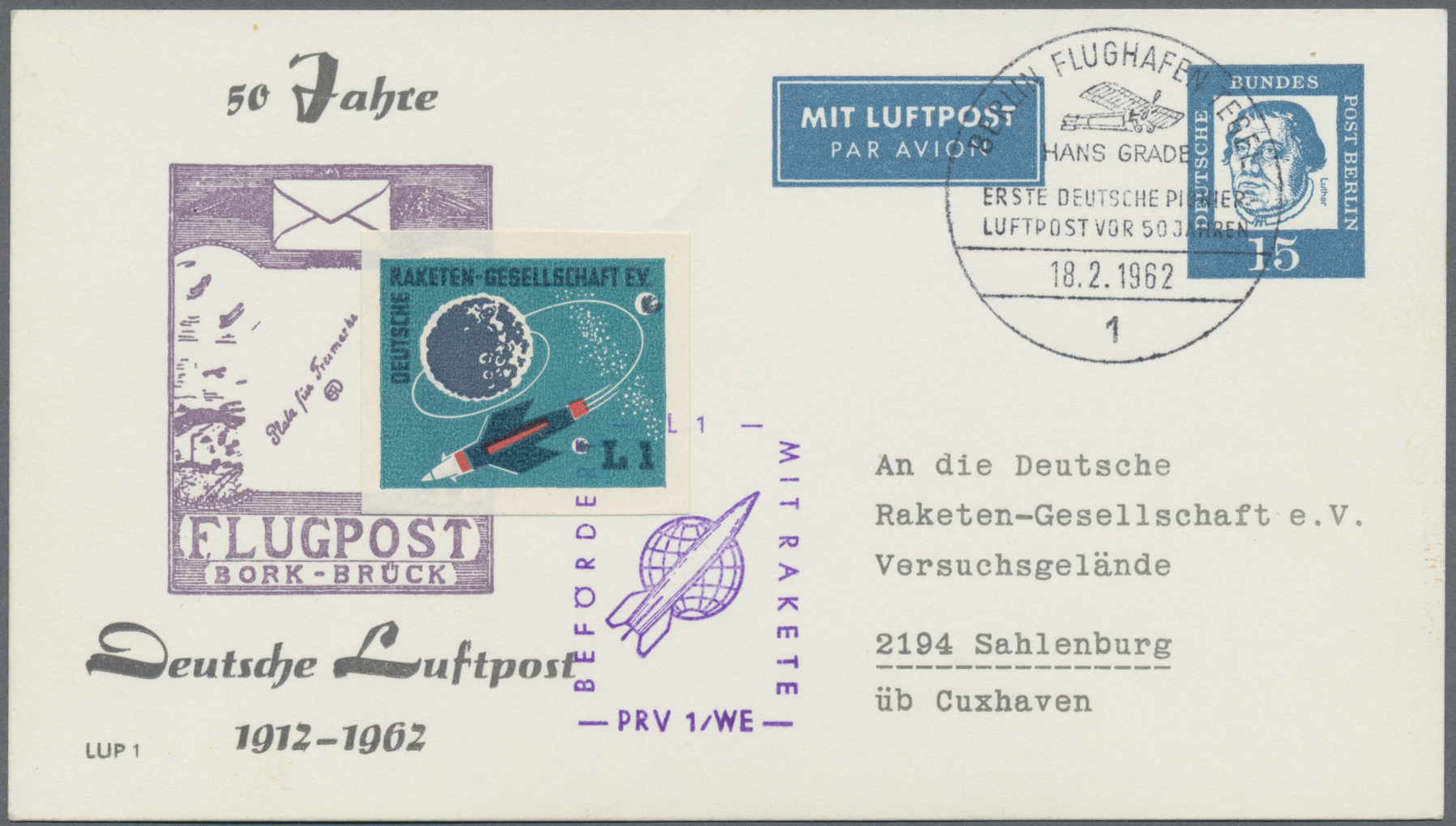 Lot 37703 - Bundesrepublik - Ganzsachen  -  Auktionshaus Christoph Gärtner GmbH & Co. KG Sale #44 Collections Germany