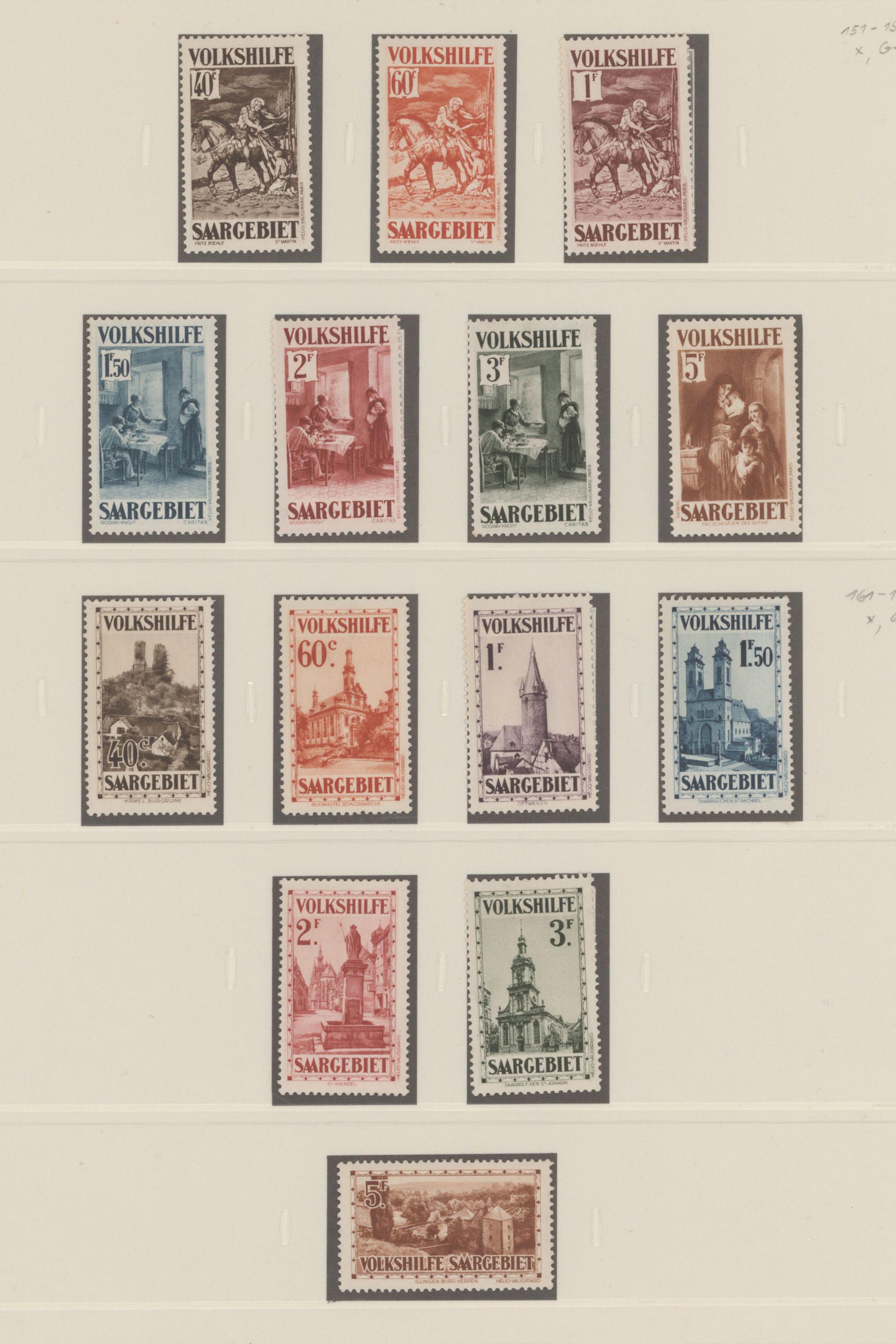 Lot 23668 - Deutsche Abstimmungsgebiete: Saargebiet  -  Auktionshaus Christoph Gärtner GmbH & Co. KG 50th Auction Anniversary Auction - Day 7