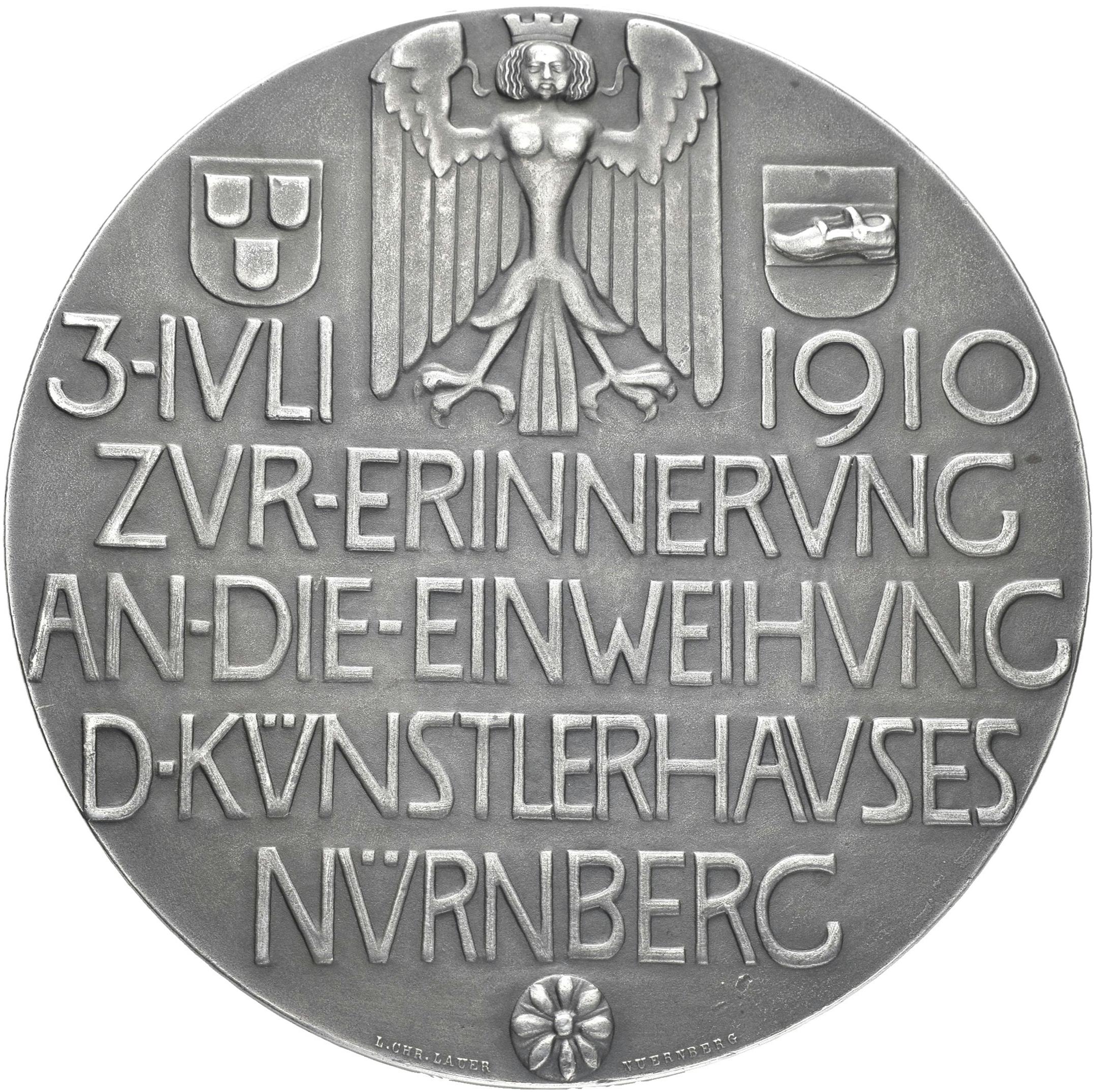 Lot 02452 - Medaillen Deutschland - Geographisch | Münzen  -  Auktionshaus Christoph Gärtner GmbH & Co. KG Sale #48 The Coins & The Picture Post Cards
